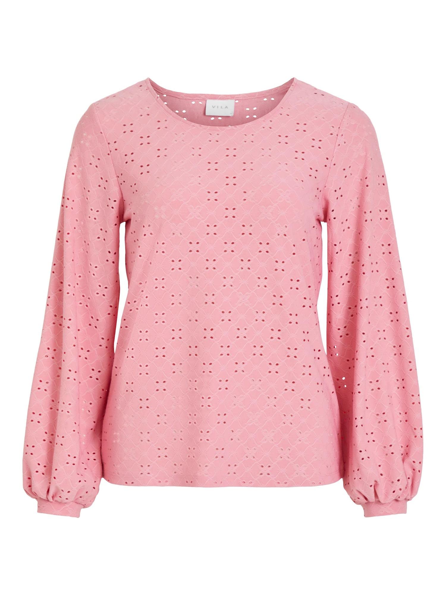 VILA Tričko 'Tressy'  růžová