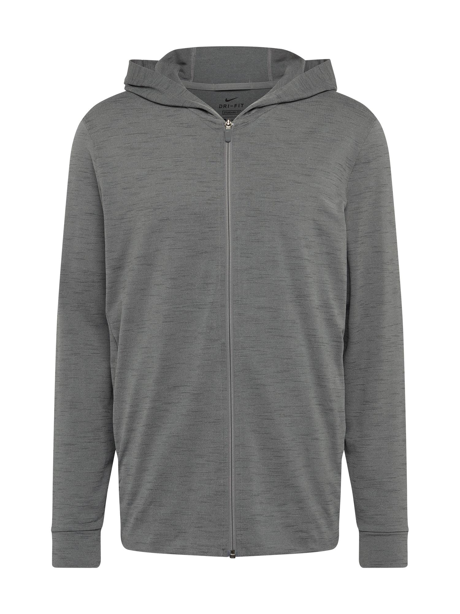 NIKE Džemperis treniruotėms tamsiai pilka
