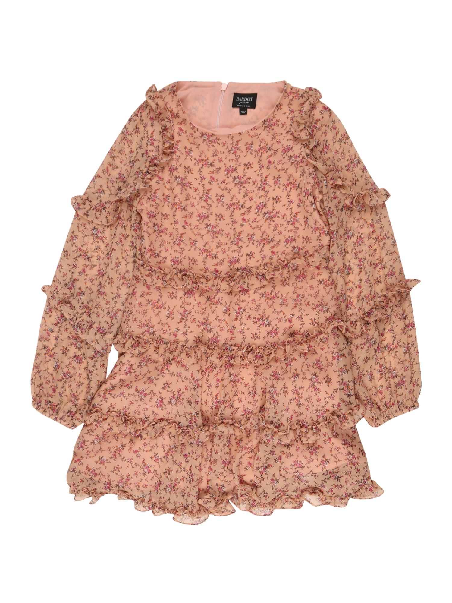 Bardot Junior Suknelė 'Hazel' rožių spalva / mišrios spalvos