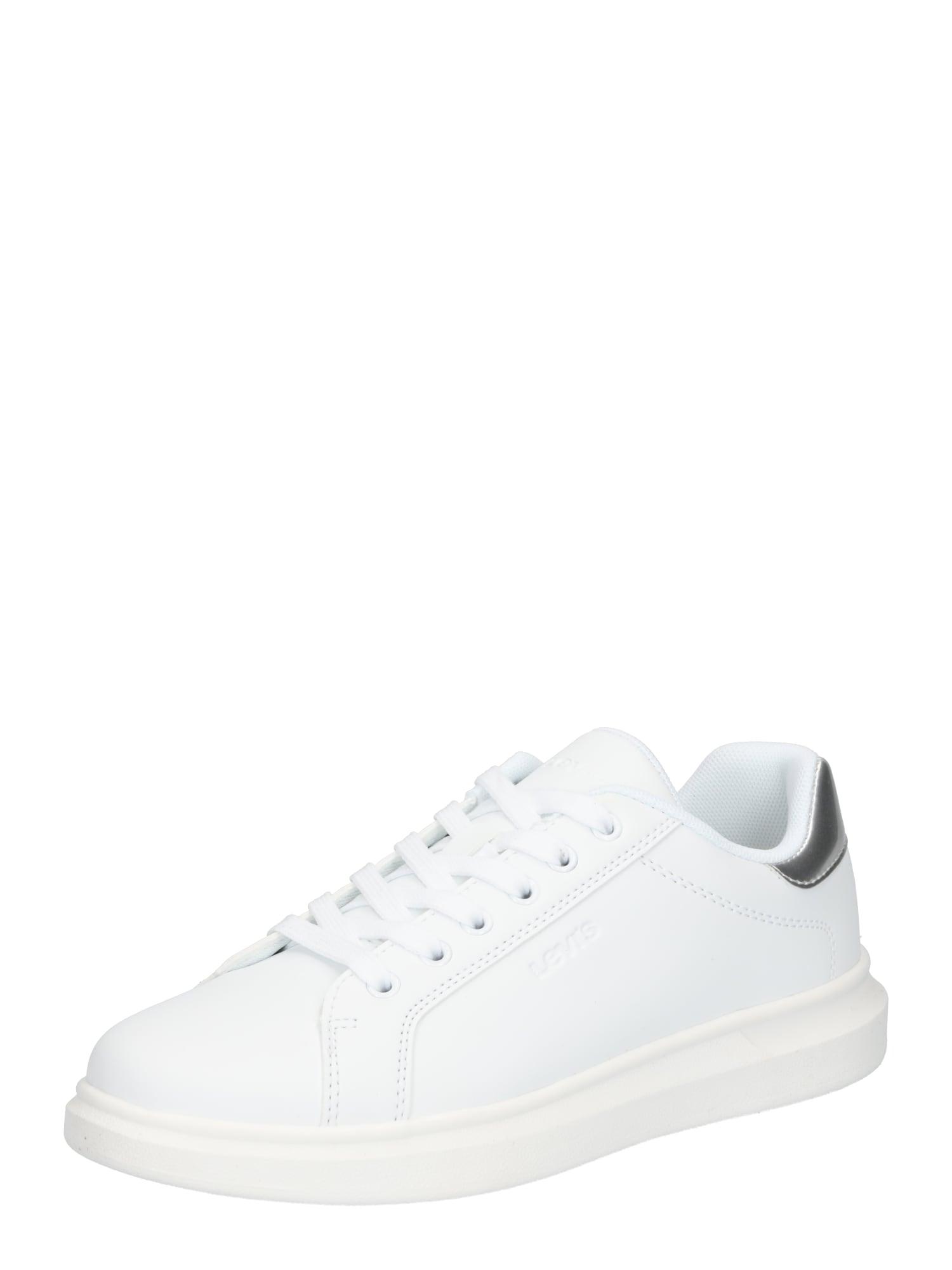 LEVI'S Tenisky 'ELLIS'  bílá / stříbrná