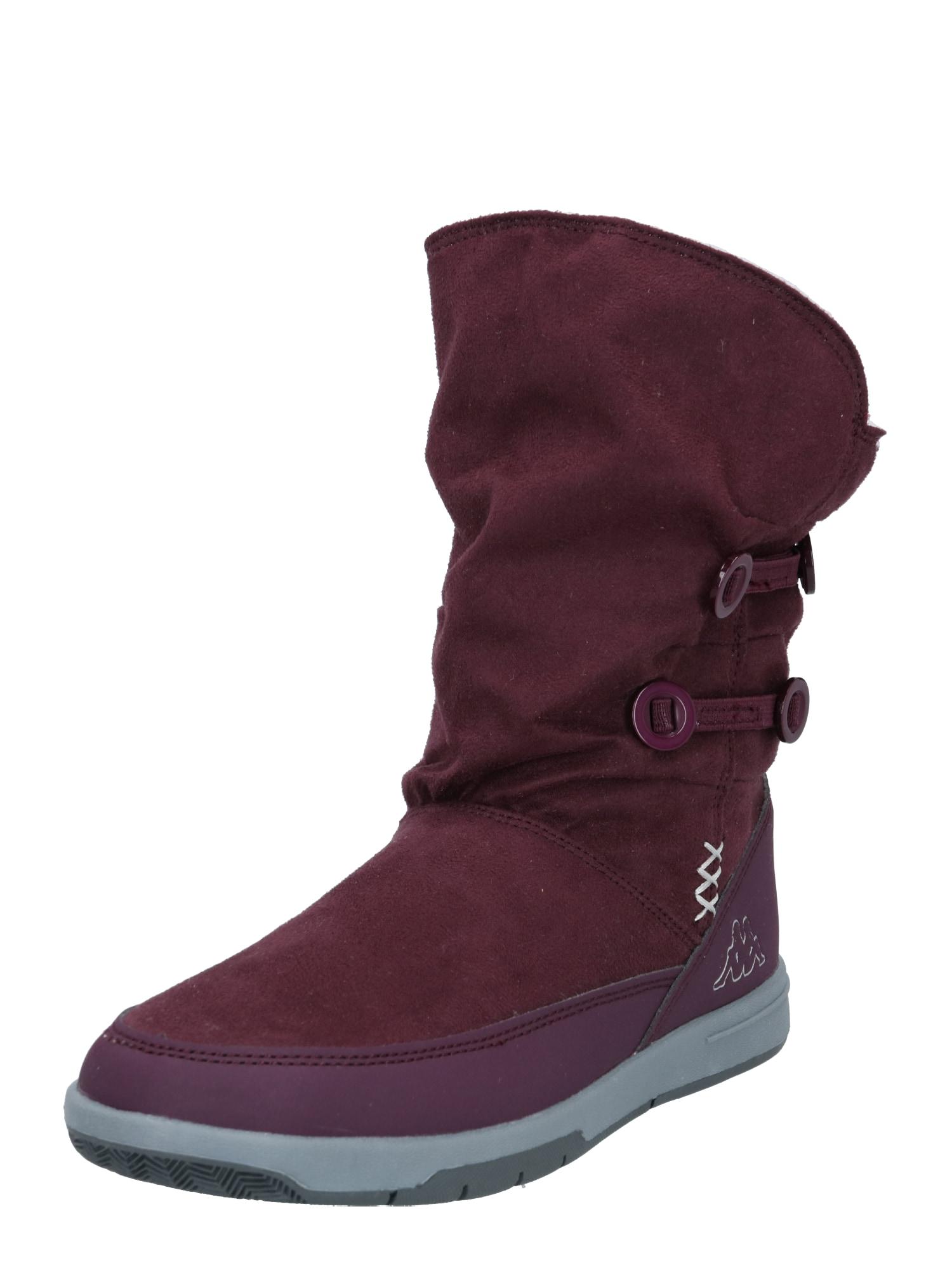 KAPPA Sniego batai 'CREAM' uogų spalva