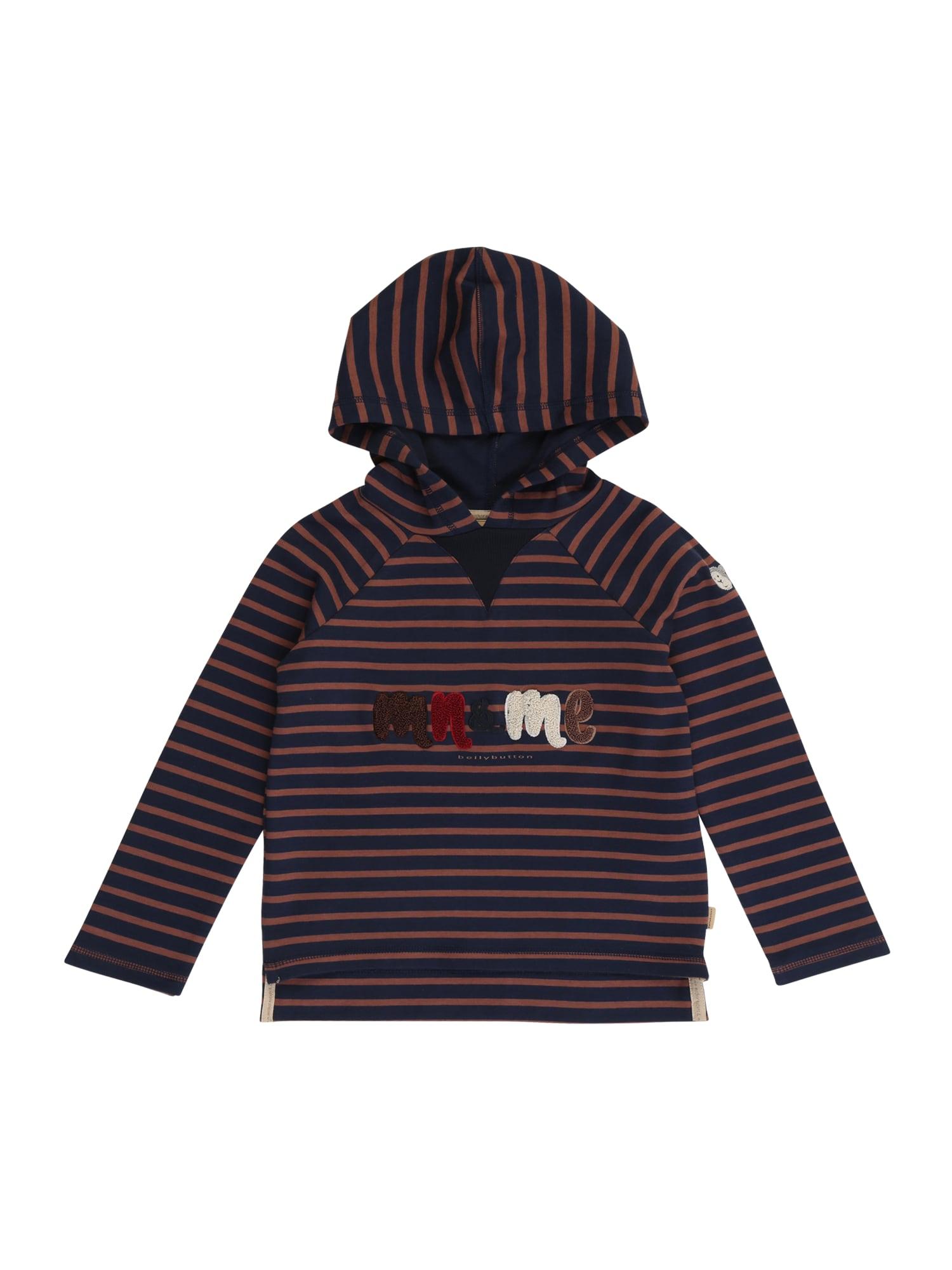 BELLYBUTTON Megztinis be užsegimo ruda / nakties mėlyna / raudona / balta