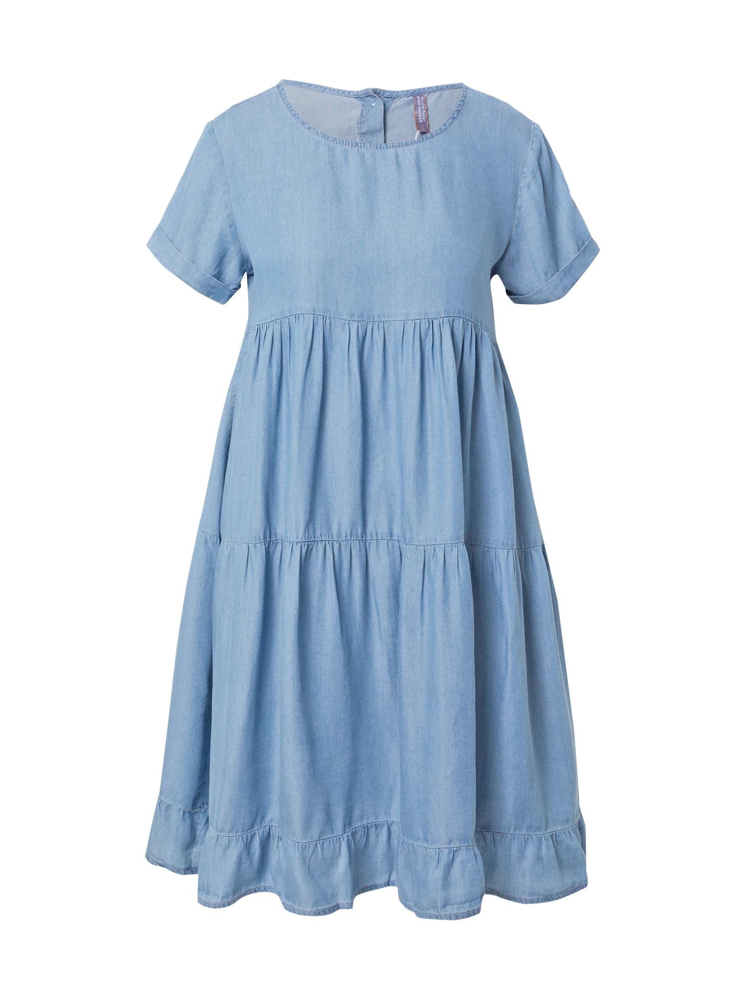 Stitch and Soul Suknelė tamsiai (džinso) mėlyna
