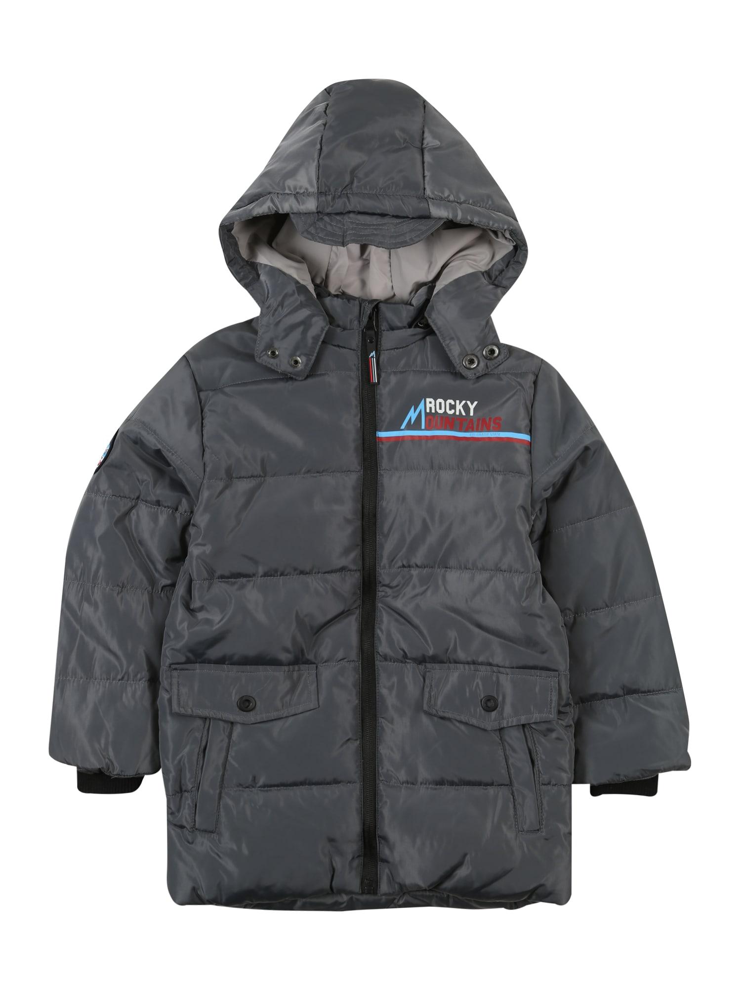 LEMON BERET Žieminė striukė 'Small Boys Jacket' tamsiai pilka