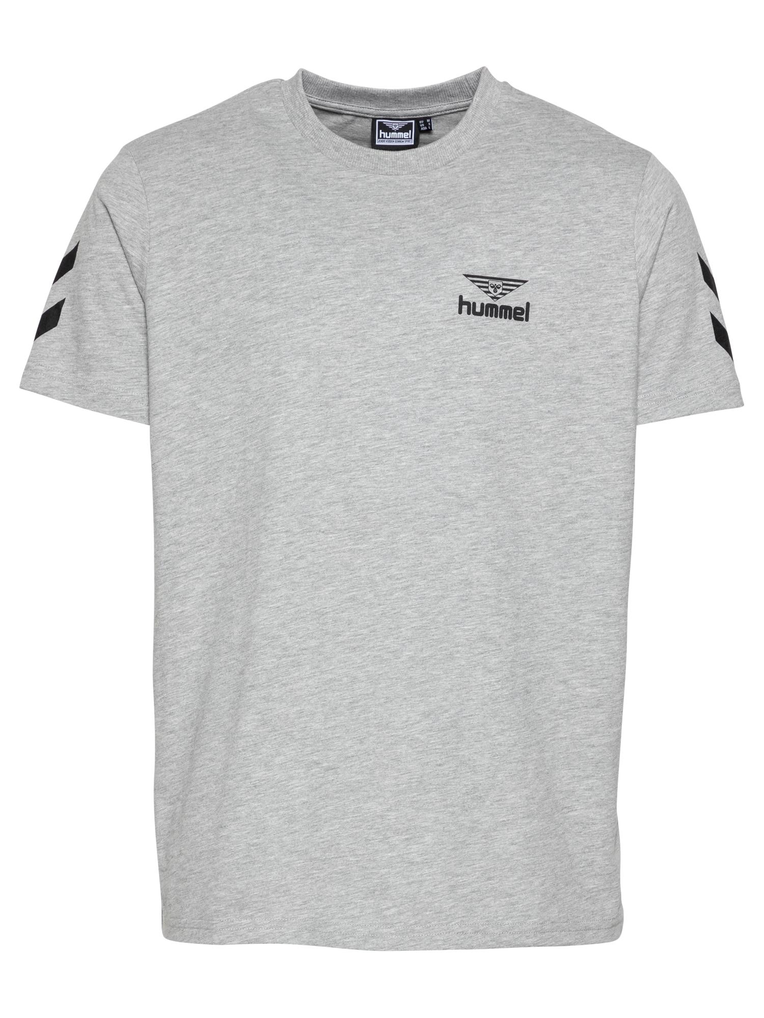 hummel hive Marškinėliai margai pilka / juoda