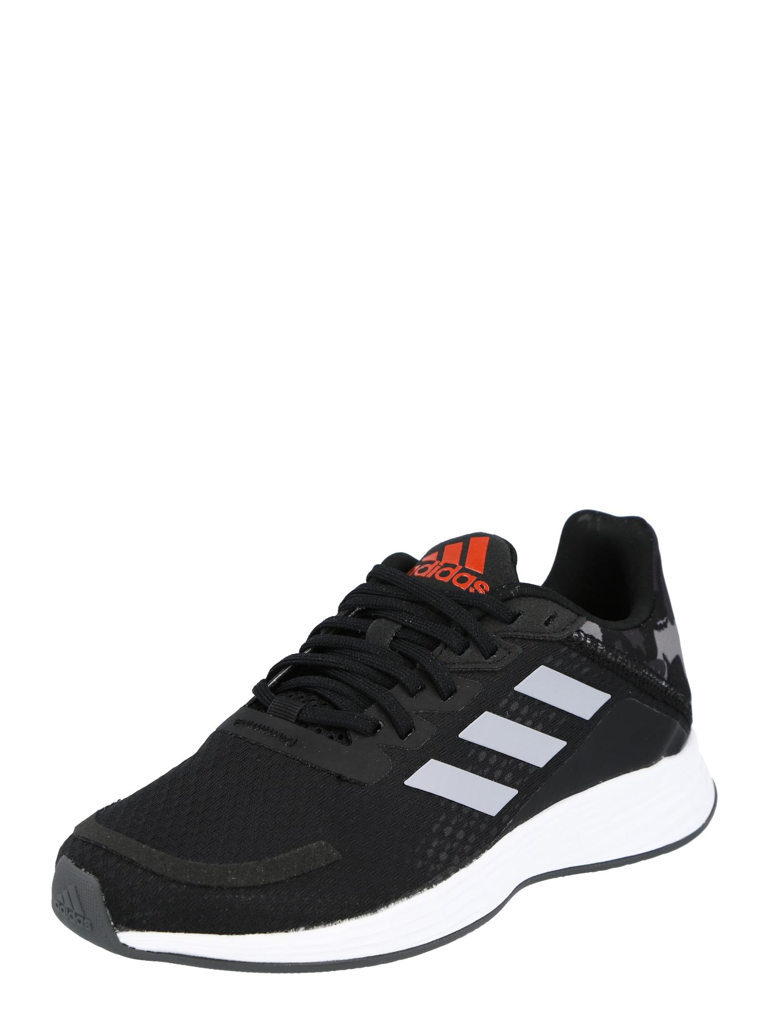 ADIDAS PERFORMANCE Sportiniai batai 'DURAMO' juoda / balta / šviesiai raudona