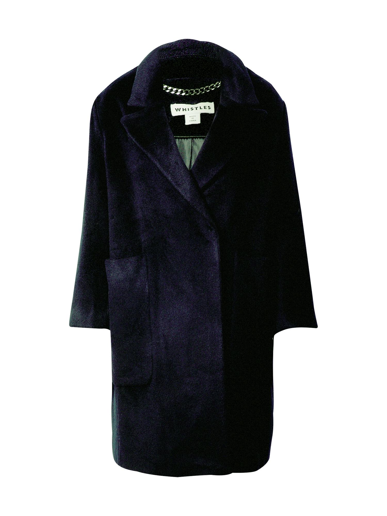 Whistles Přechodný kabát  námořnická modř