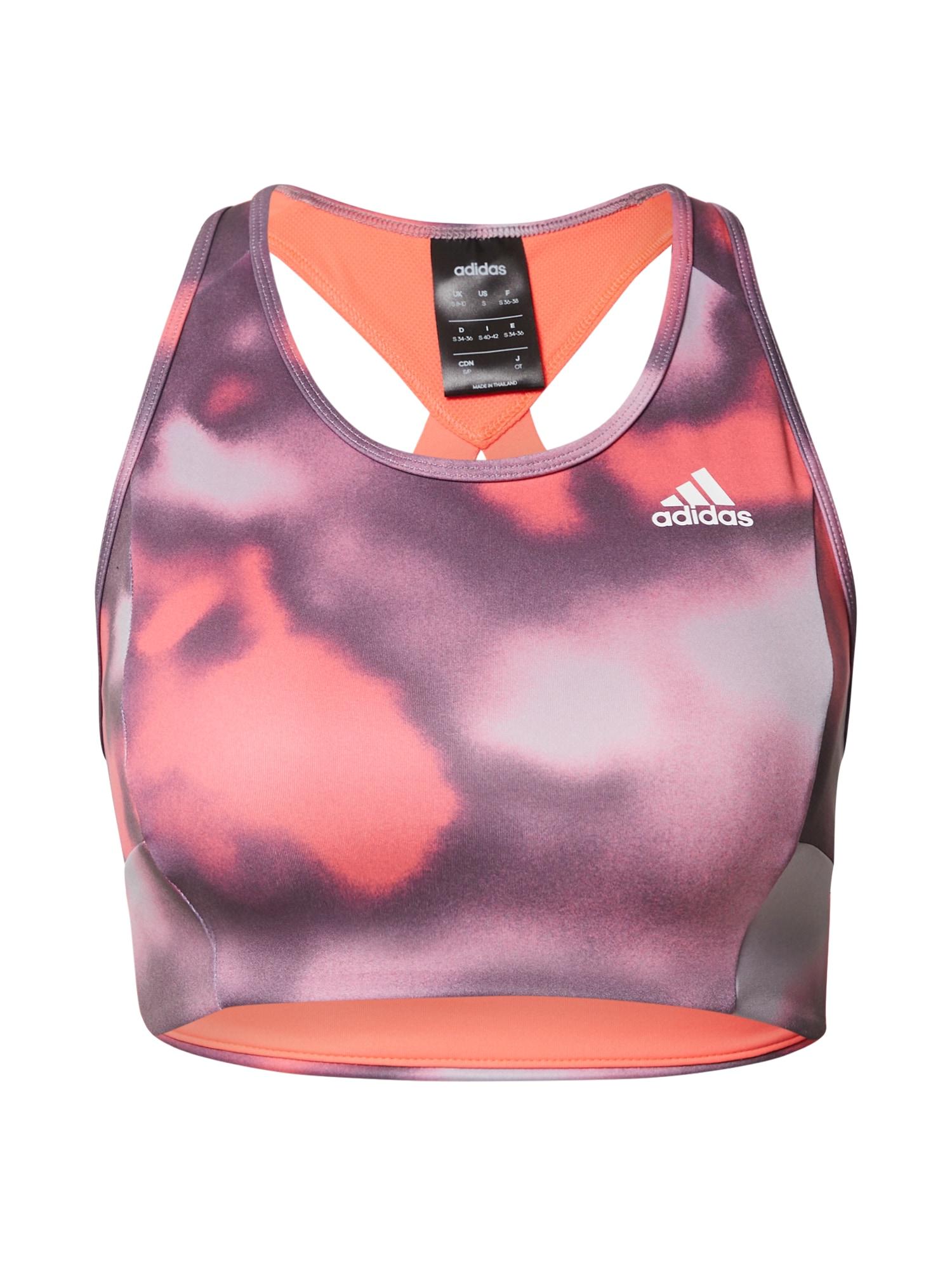 ADIDAS PERFORMANCE Sportovní podprsenka  pink