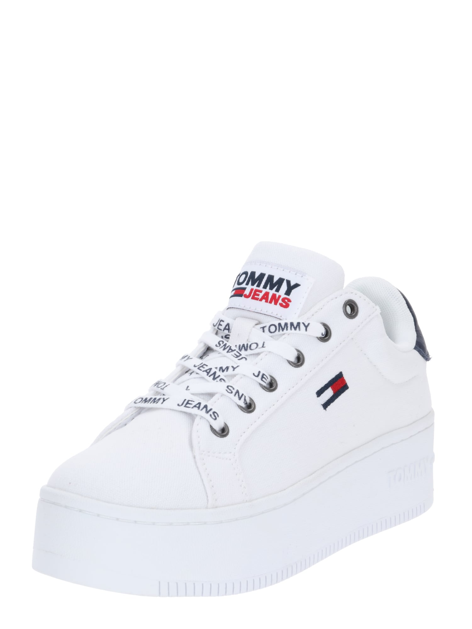 Tommy Jeans Sportbačiai su auliuku balta