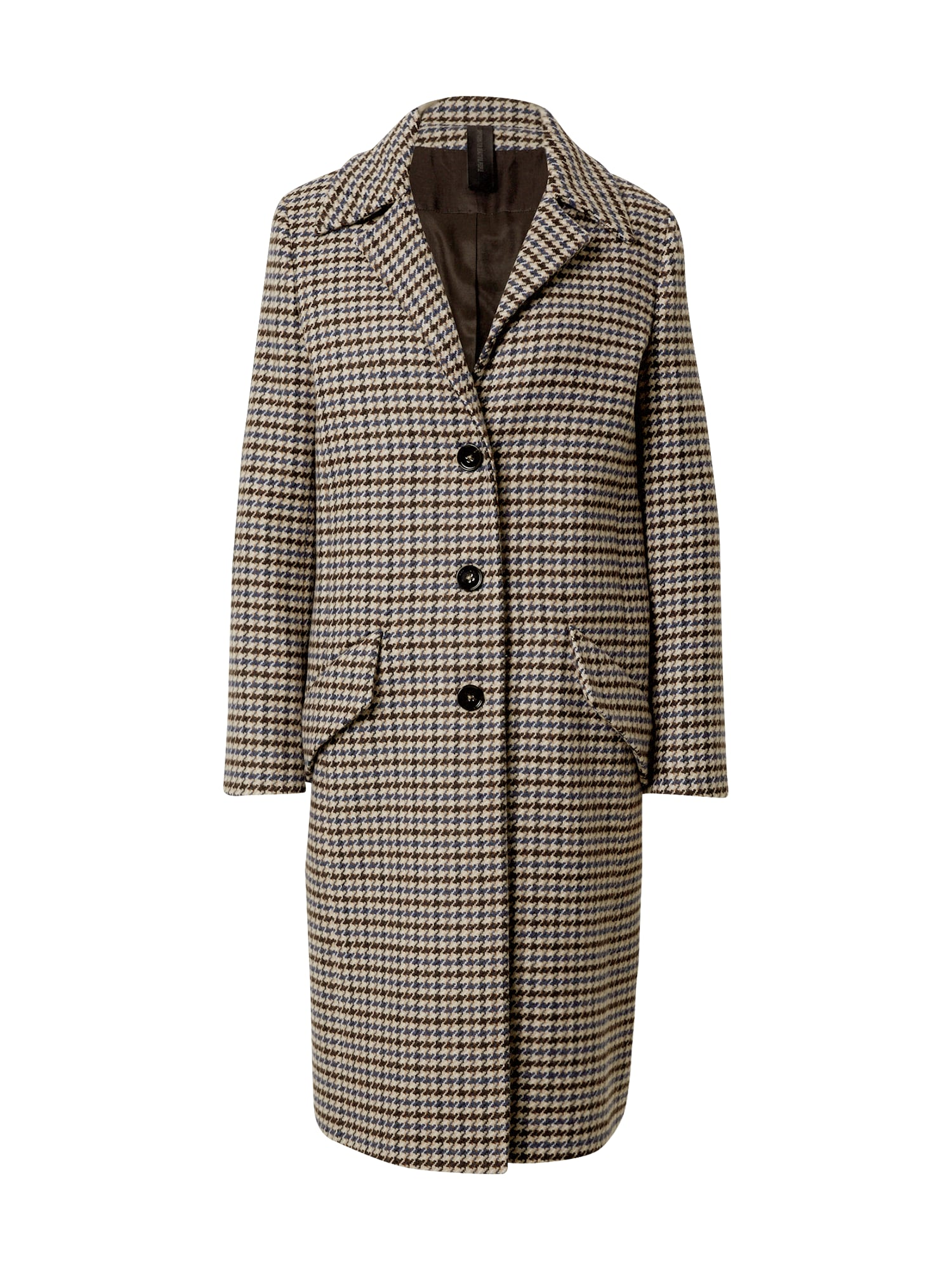 DRYKORN Rudeninis-žieminis paltas 'Salisburg' mėlyna / ruda