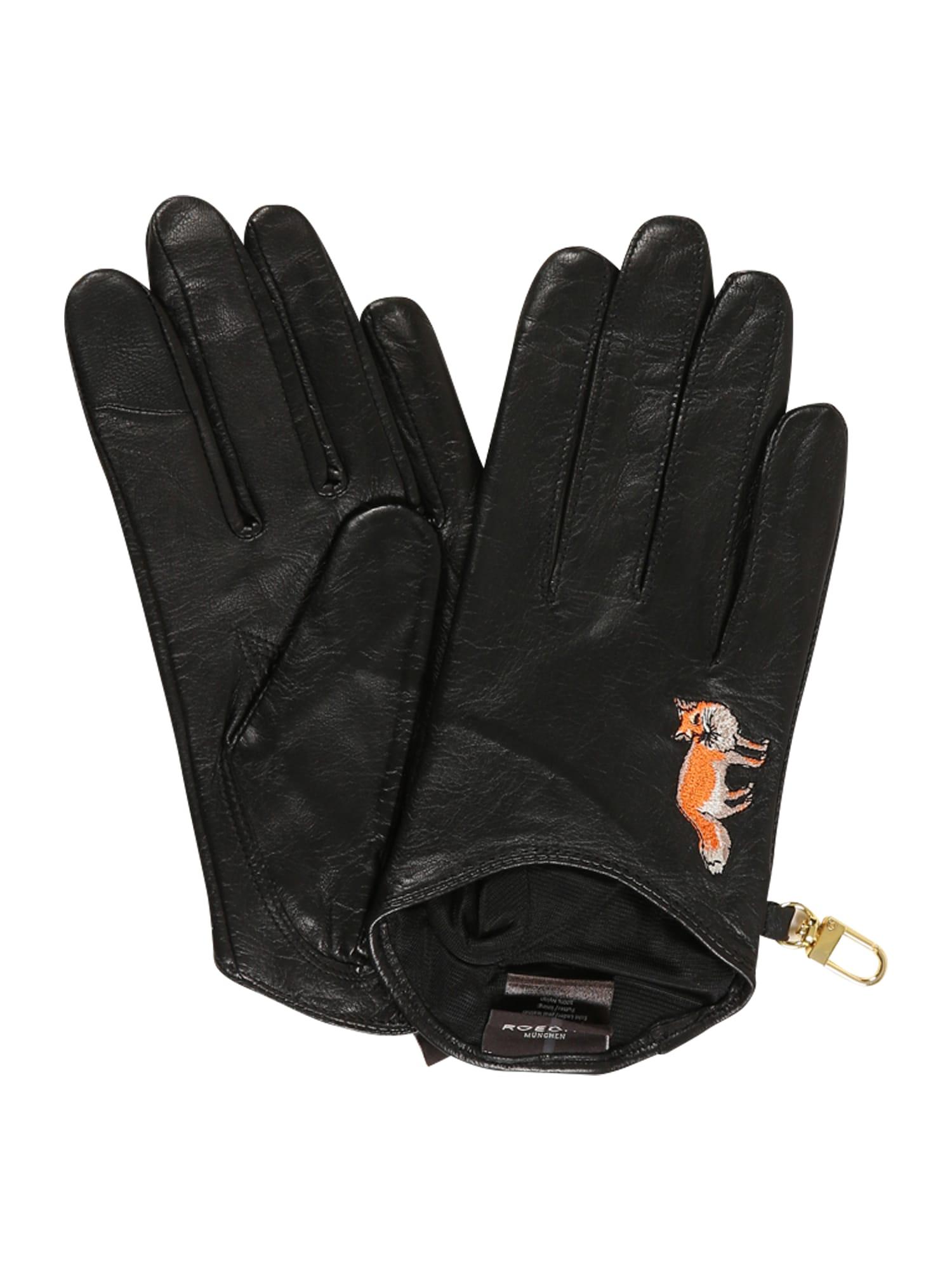 ROECKL Prstové rukavice 'York Touch'  černá