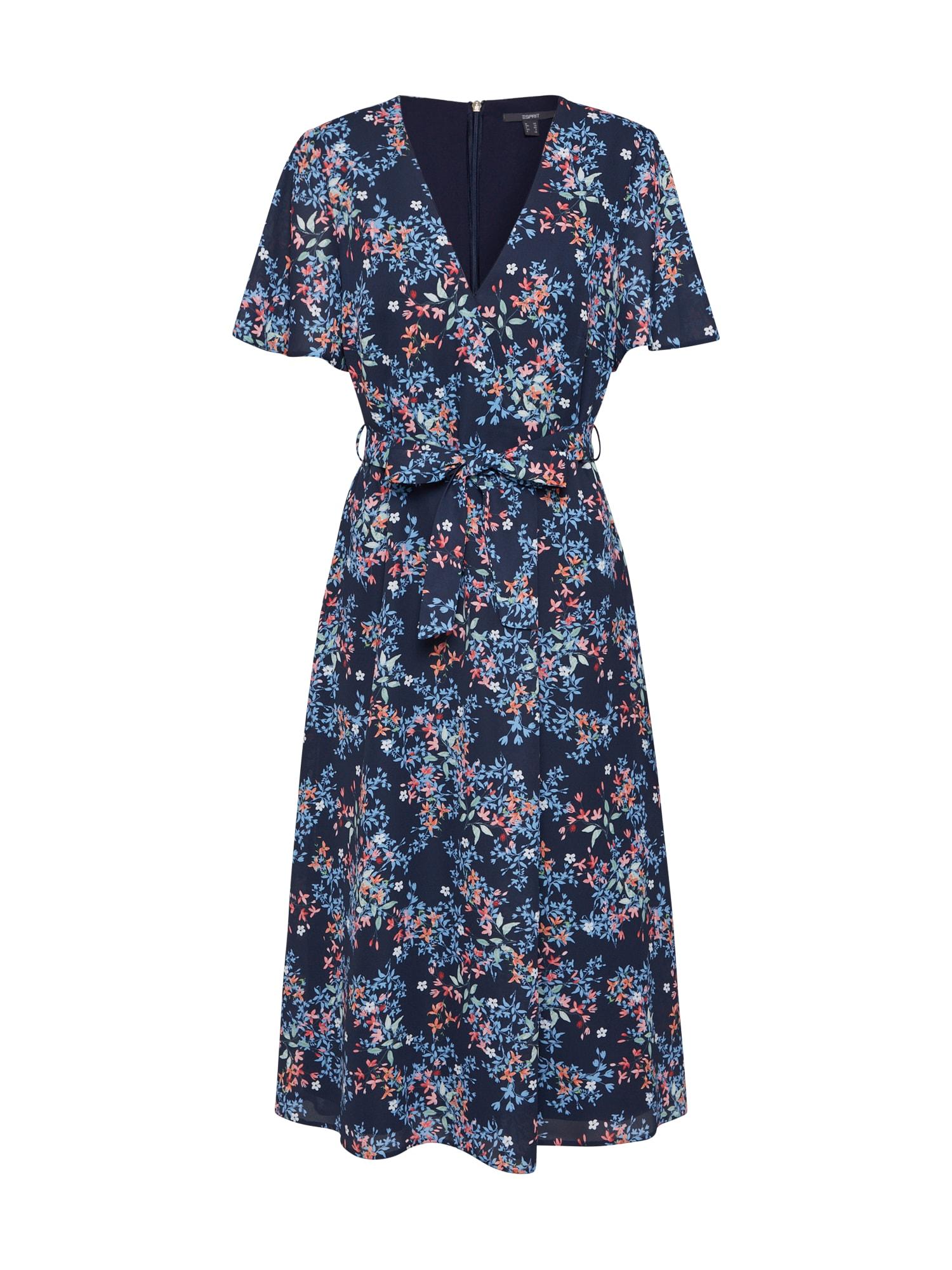 Esprit Collection Vakarinė suknelė mišrios spalvos / tamsiai mėlyna