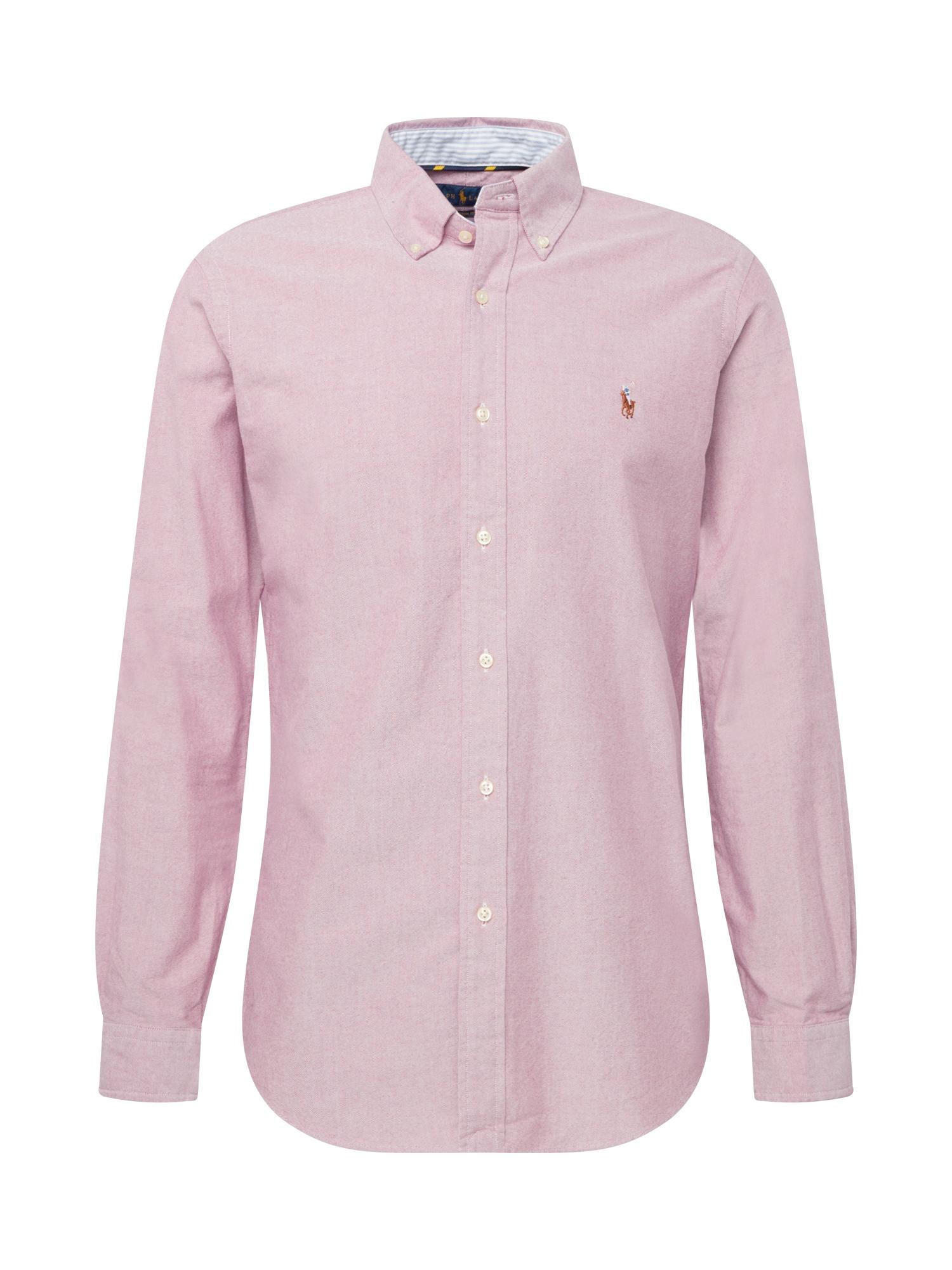 POLO RALPH LAUREN Marškiniai pastelinė raudona