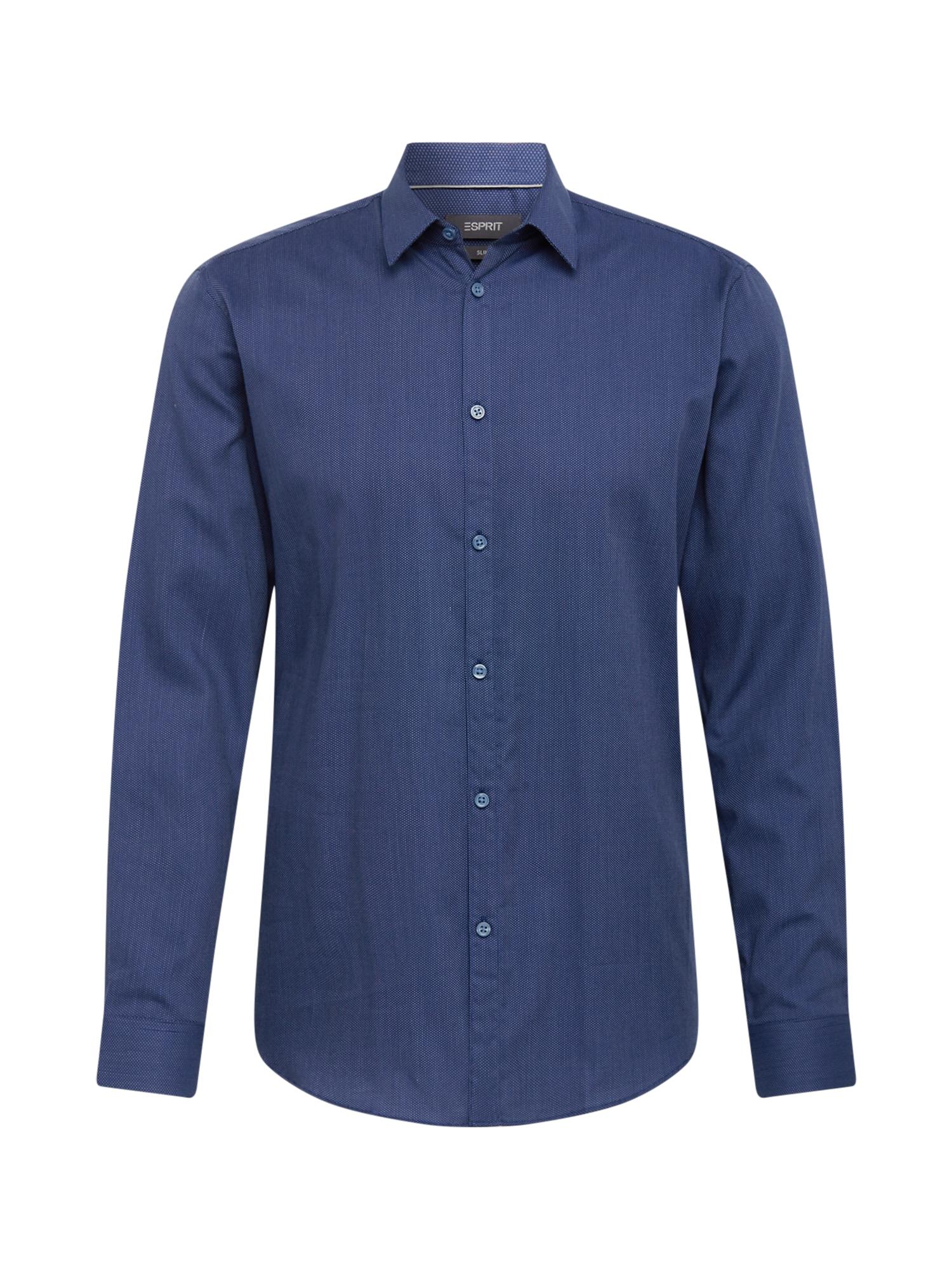 Esprit Collection Marškiniai tamsiai mėlyna