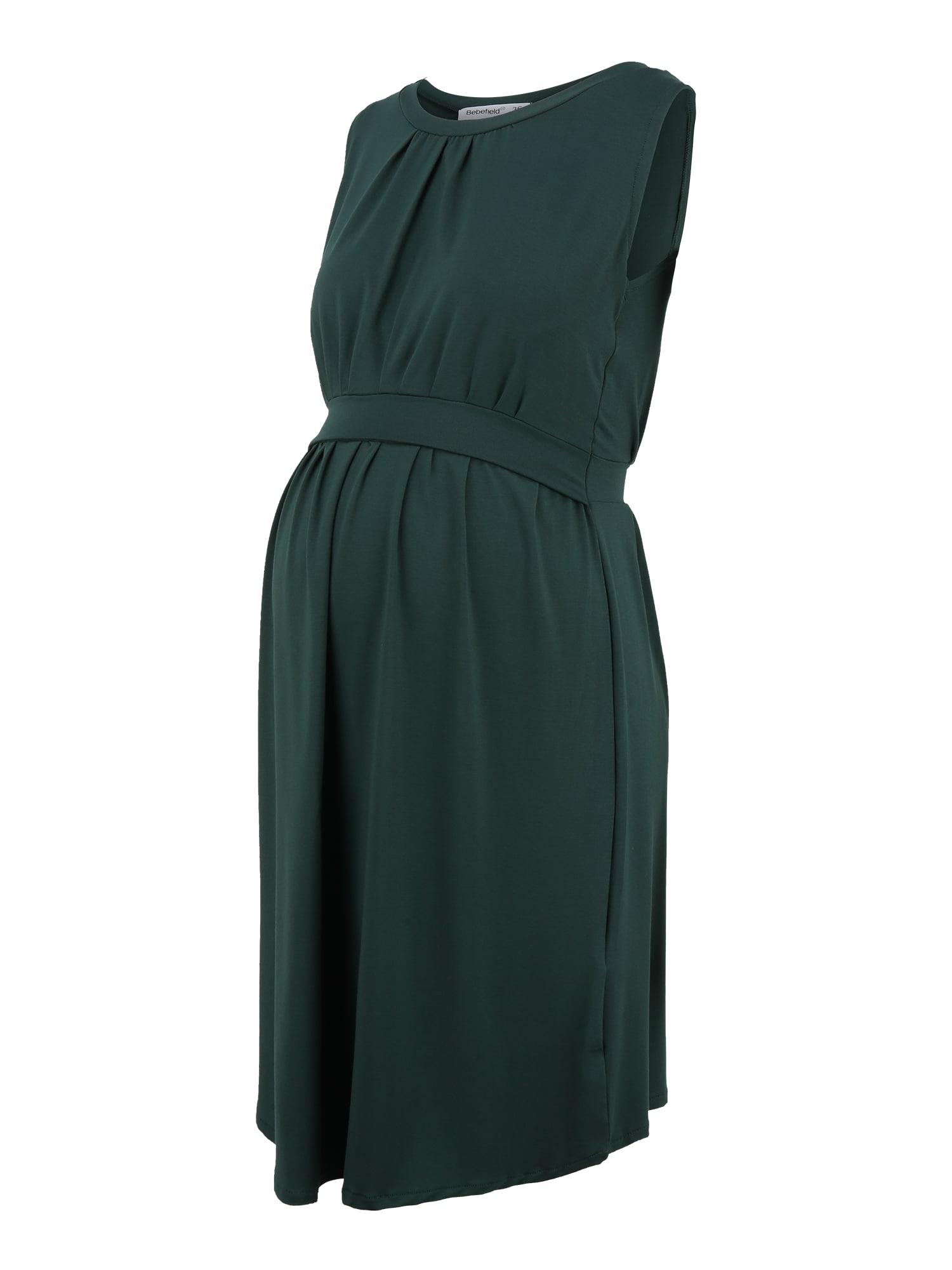 Bebefield Suknelė tamsiai žalia