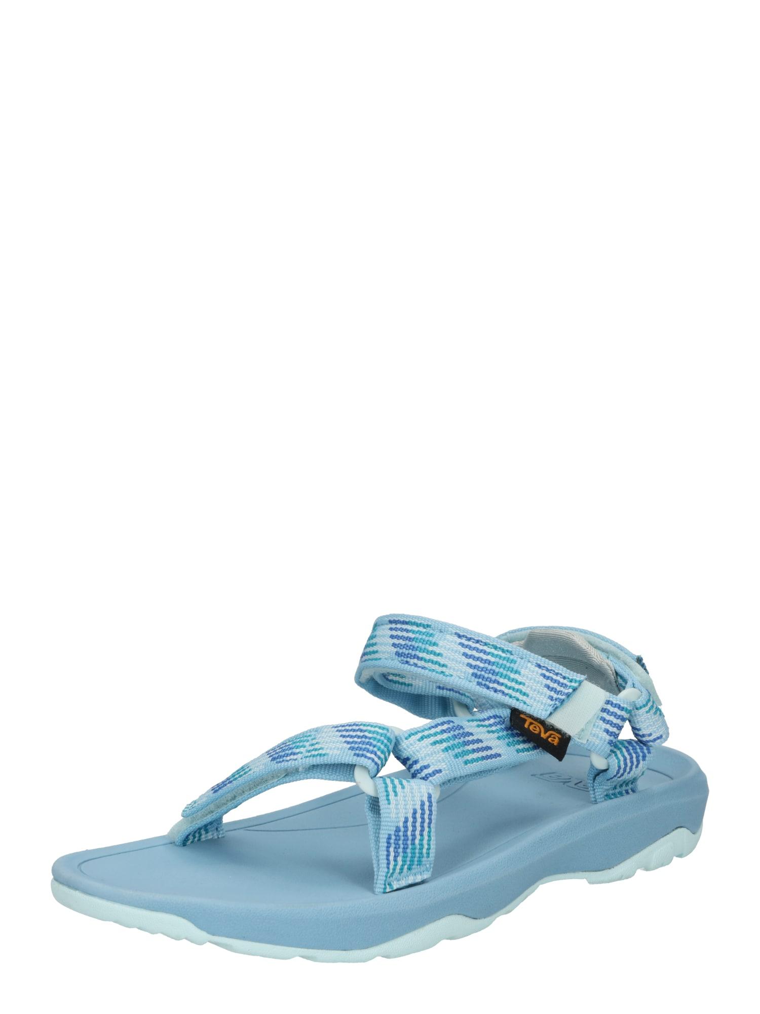 TEVA Atviri batai mėlyna / šviesiai mėlyna