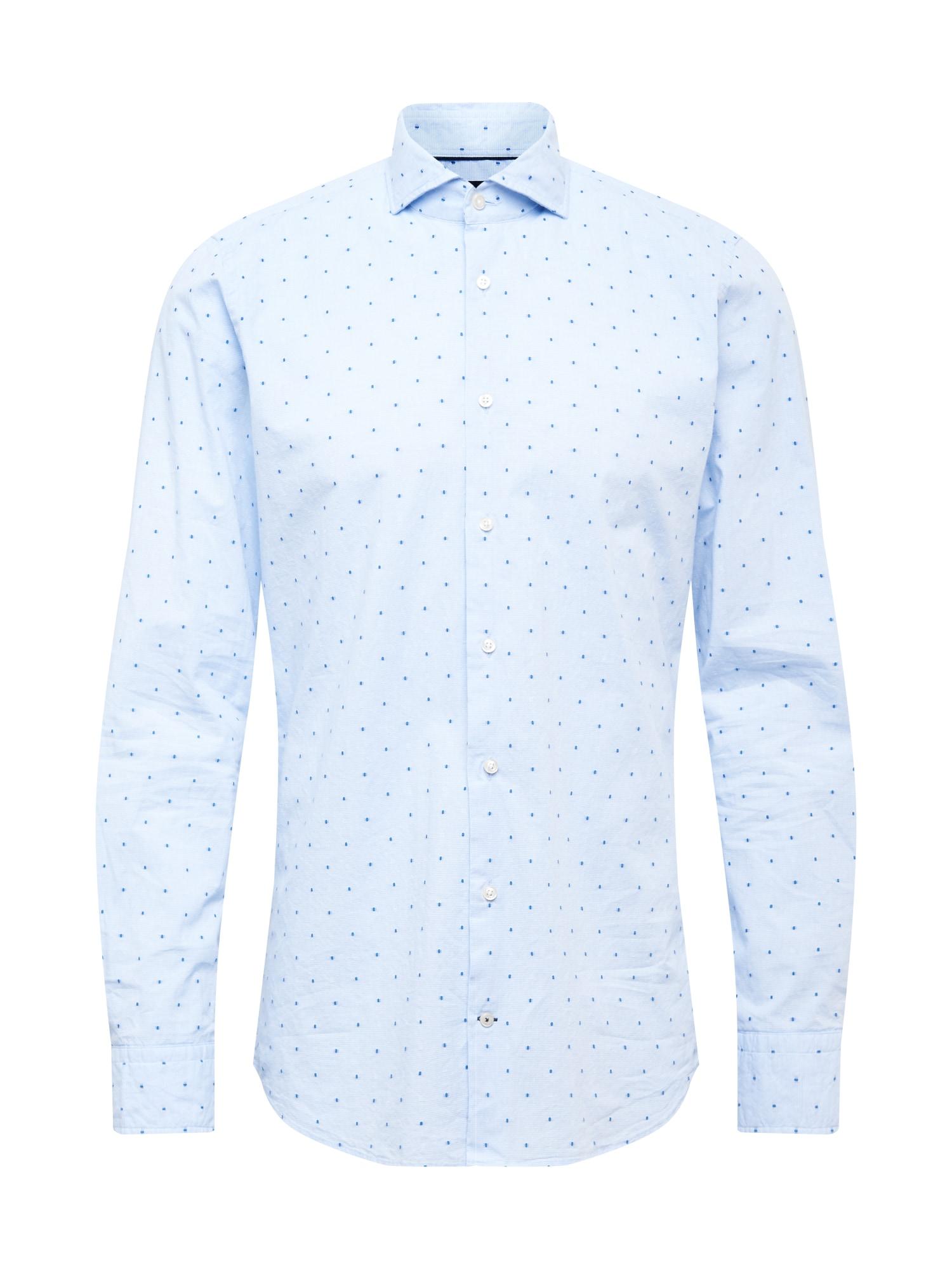 JOOP! Marškiniai mėlyna / šviesiai mėlyna
