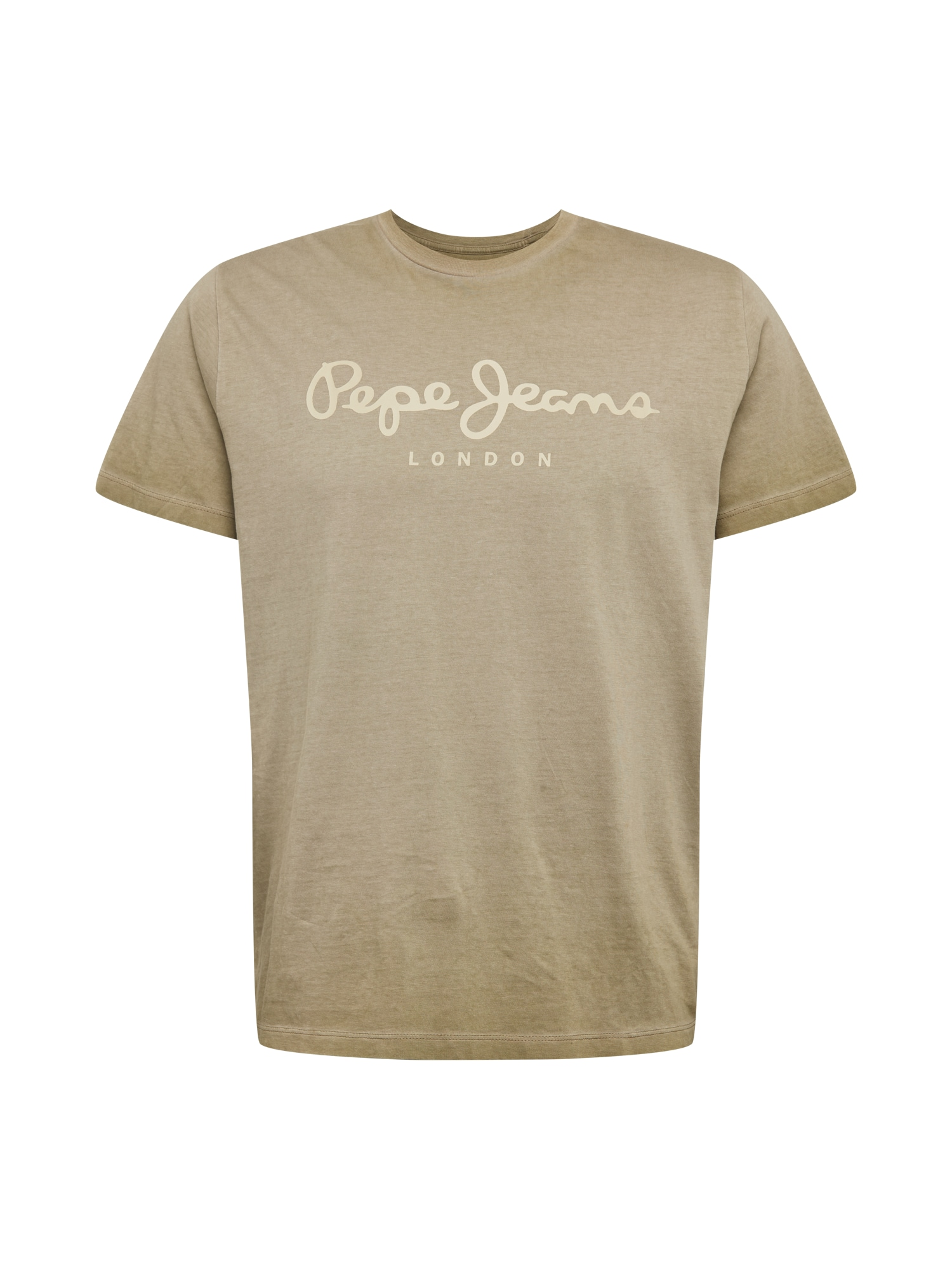 Pepe Jeans Tričko 'West Sir'  khaki