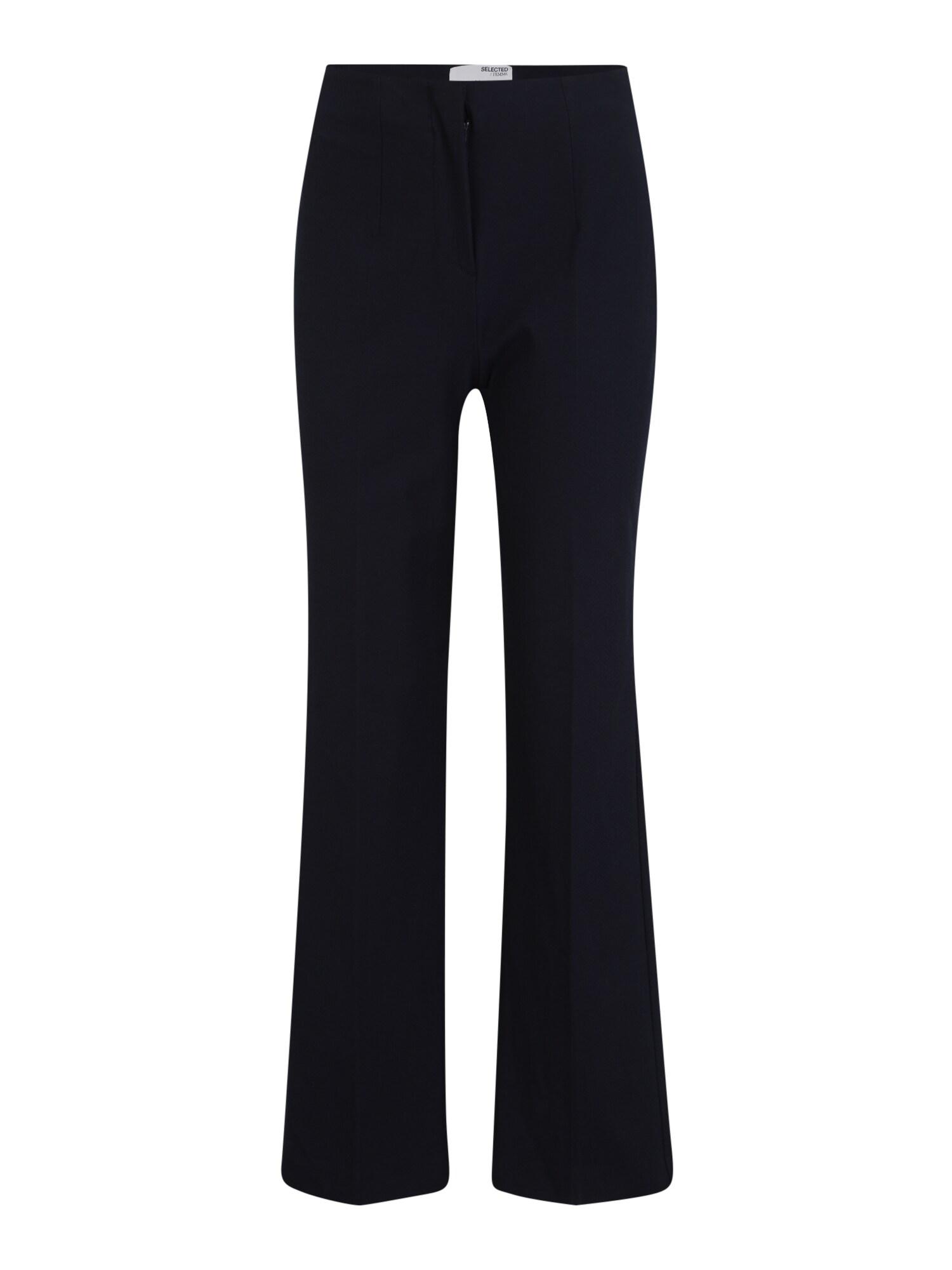 Selected Femme (Tall) Kelnės su kantu 'LINA' ultramarino mėlyna (skaidri)