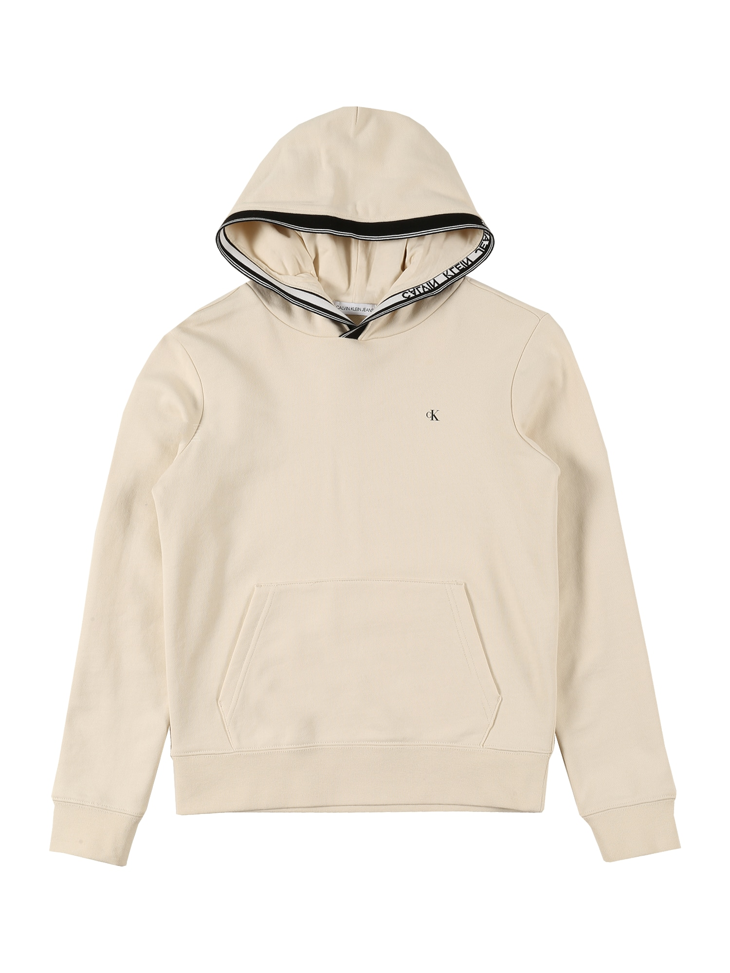 Calvin Klein Jeans Megztinis be užsegimo gelsvai pilka spalva