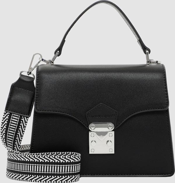 Edle Handtasche der Marke Emily & Noah in schönem Design und aufregenden Farben. Sie kann dank dem beiliegenden Trageriemen auch als Schulter- und sogar als Umhängetasche getragen werden. Der flexible modische Begleiter im Alltag.