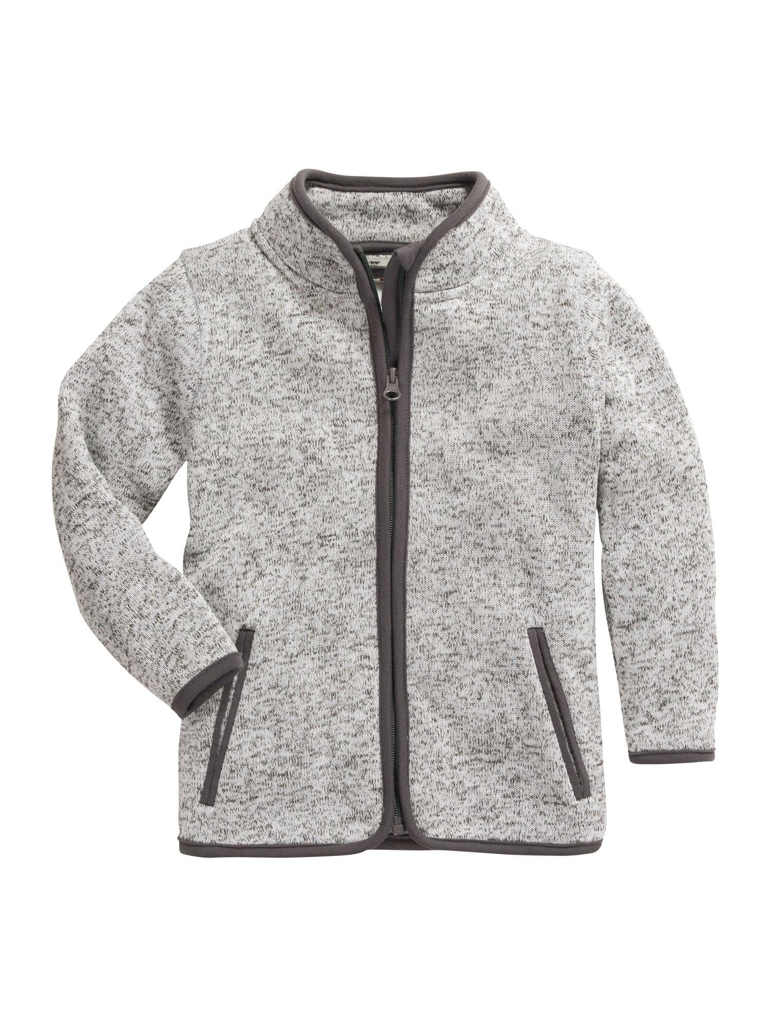 PLAYSHOES Flisinis džemperis margai pilka / tamsiai pilka