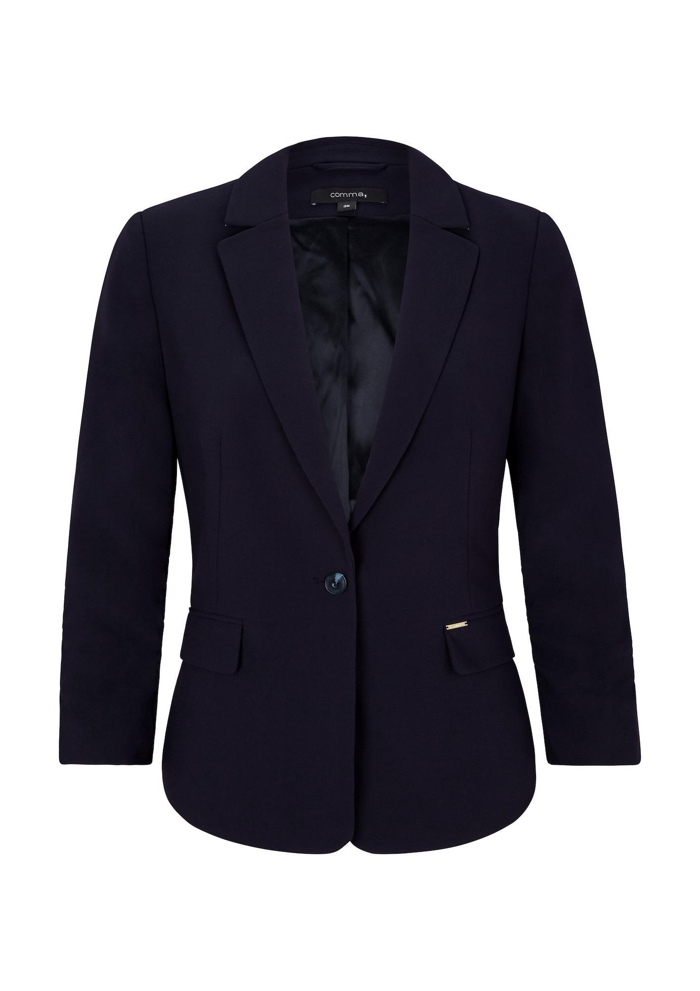 COMMA Blazer švarkas tamsiai mėlyna