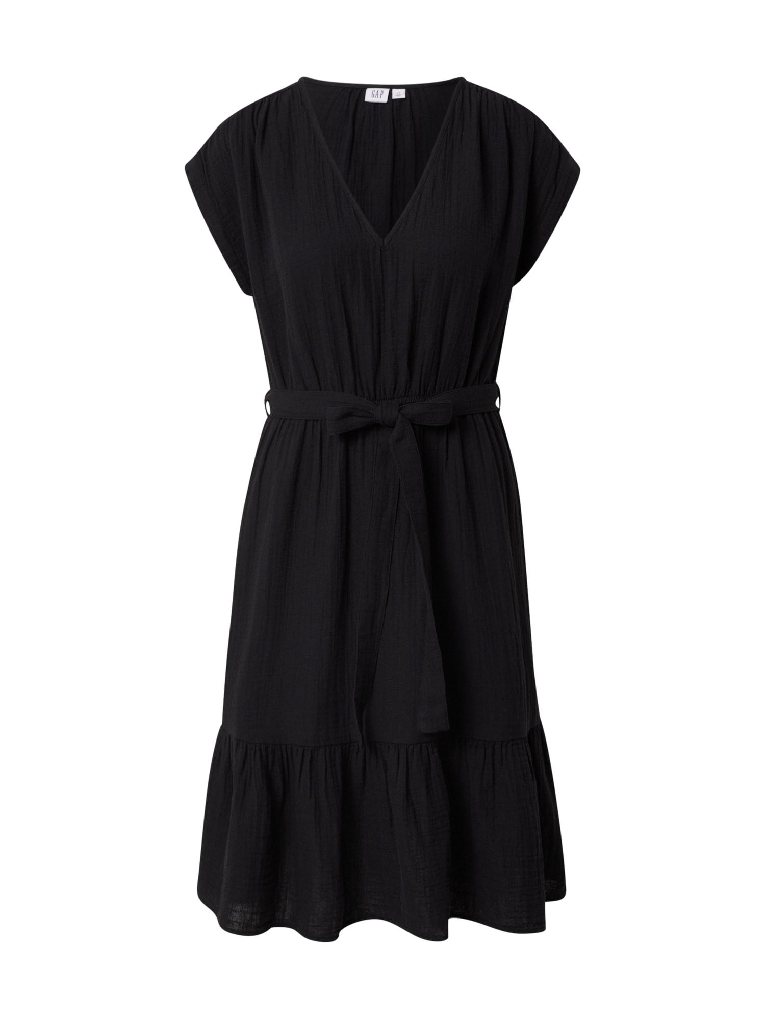 GAP Letní šaty 'V-SS FAV V SLD'  černá