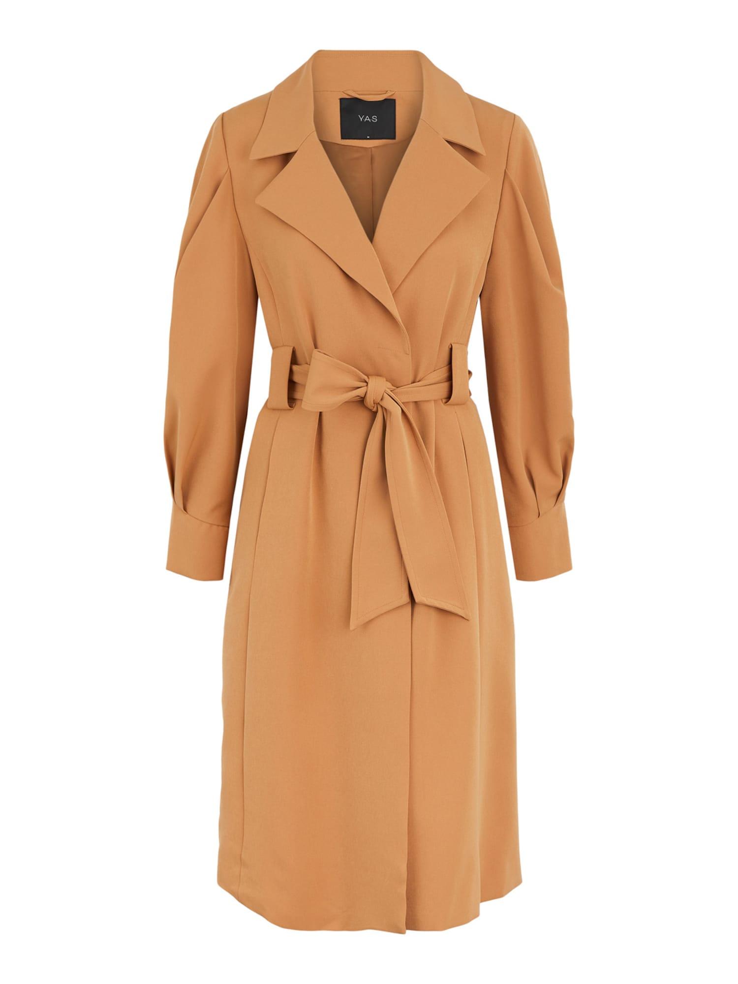 Y.A.S Demisezoninis paltas ruda