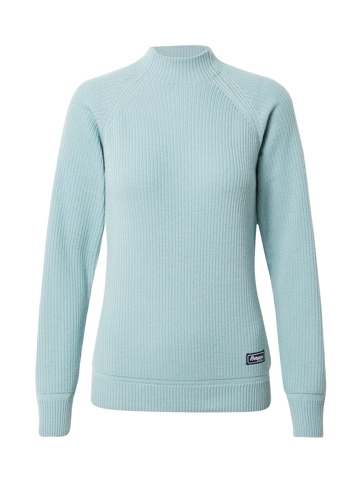 Bergans Sportinis megztinis pastelinė žalia