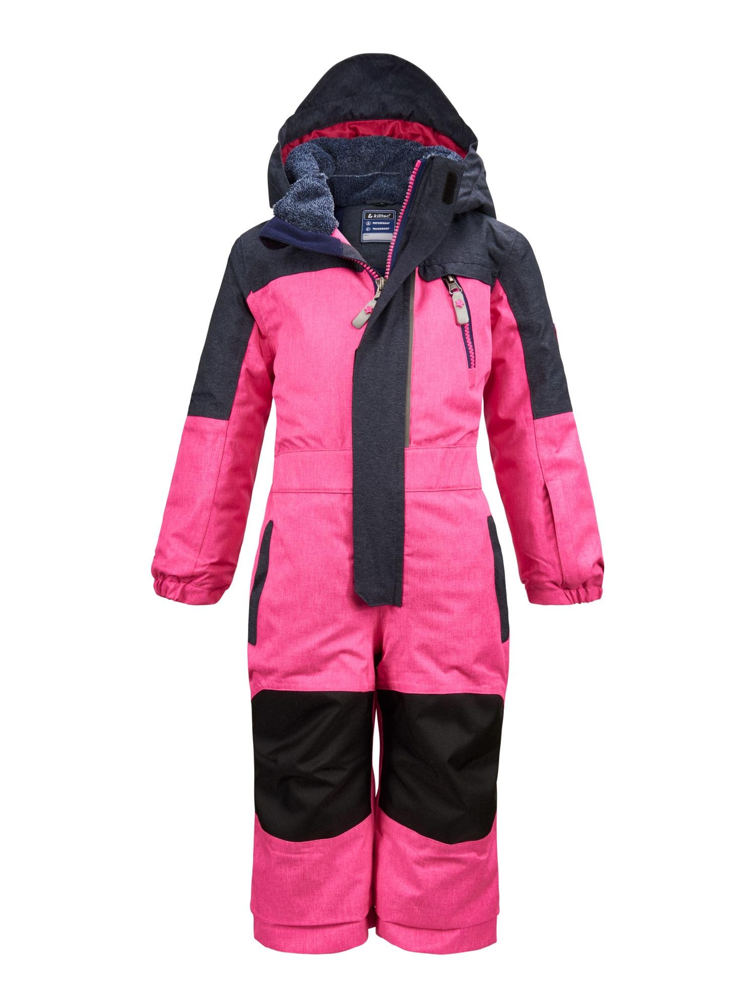 KILLTEC Sportinis kostiumas 'Viewy' neoninė rožinė / juoda