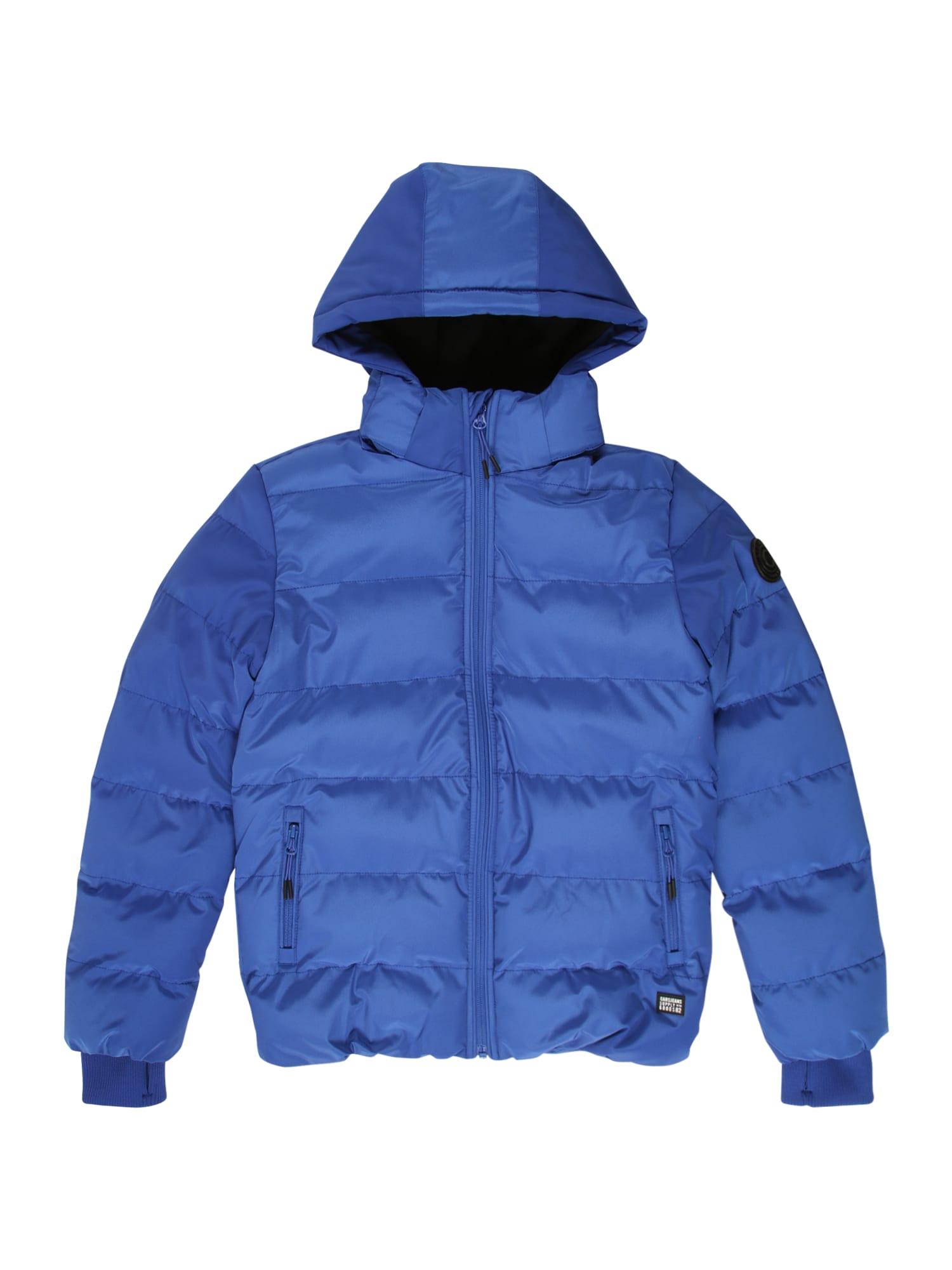 Cars Jeans Žieminė striukė 'RAINEY' kobalto mėlyna