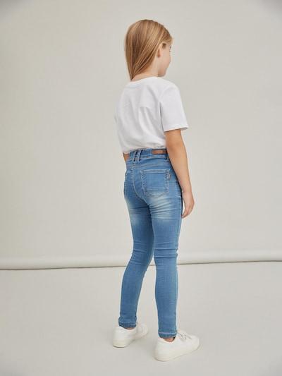 Name It Kids Polly mittelblaue enge Denim-Jeans