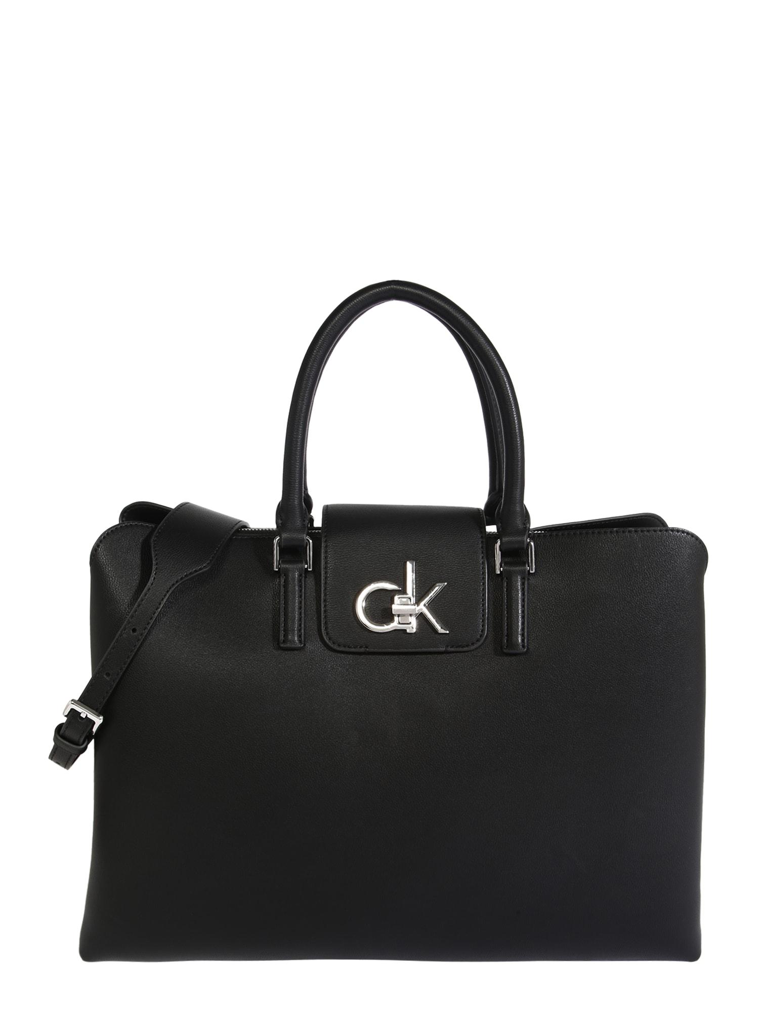 Calvin Klein Rankinė 'Tote' juoda