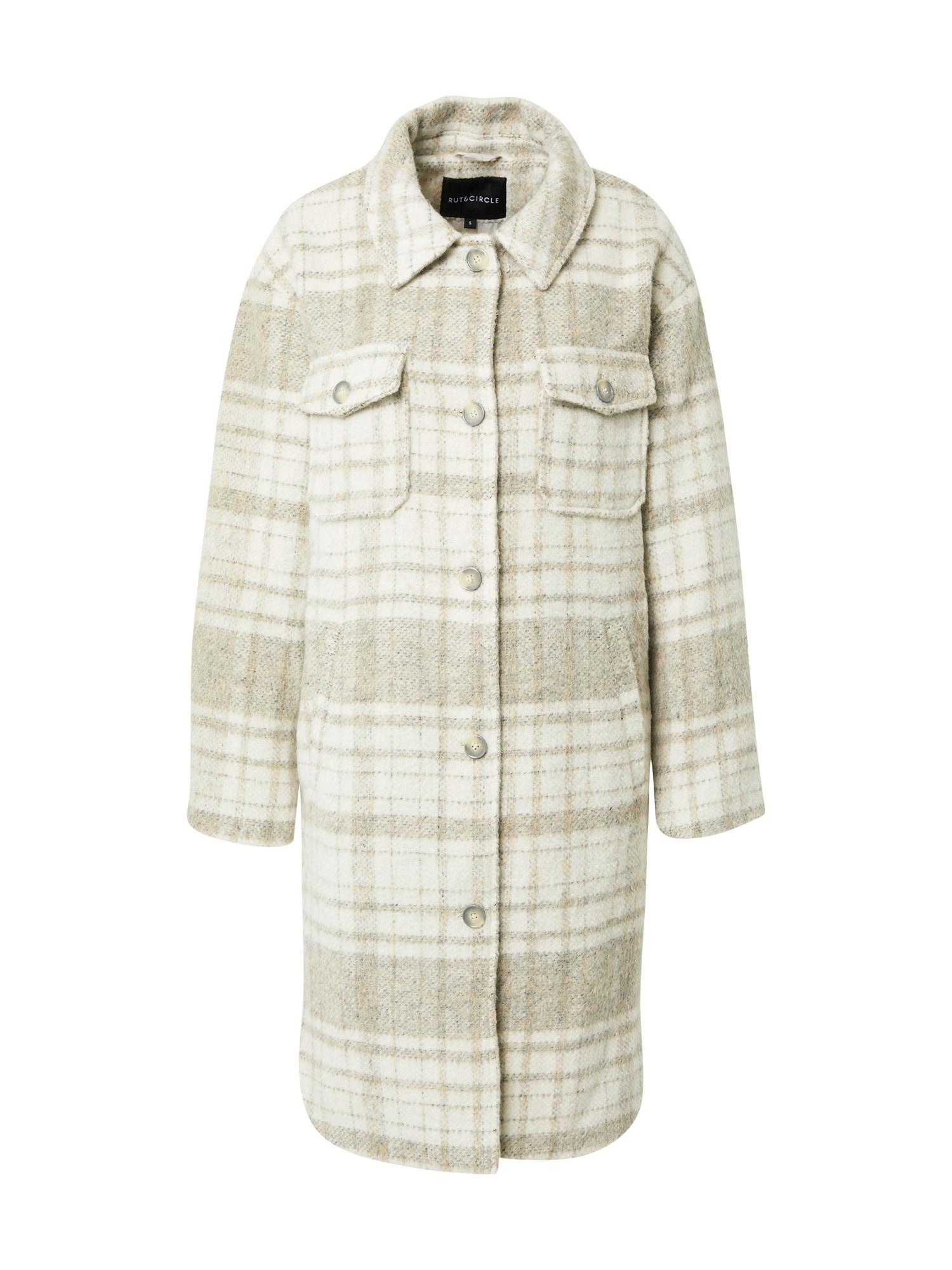 Rut & Circle Přechodný kabát 'BECKY'  béžová / béžový melír