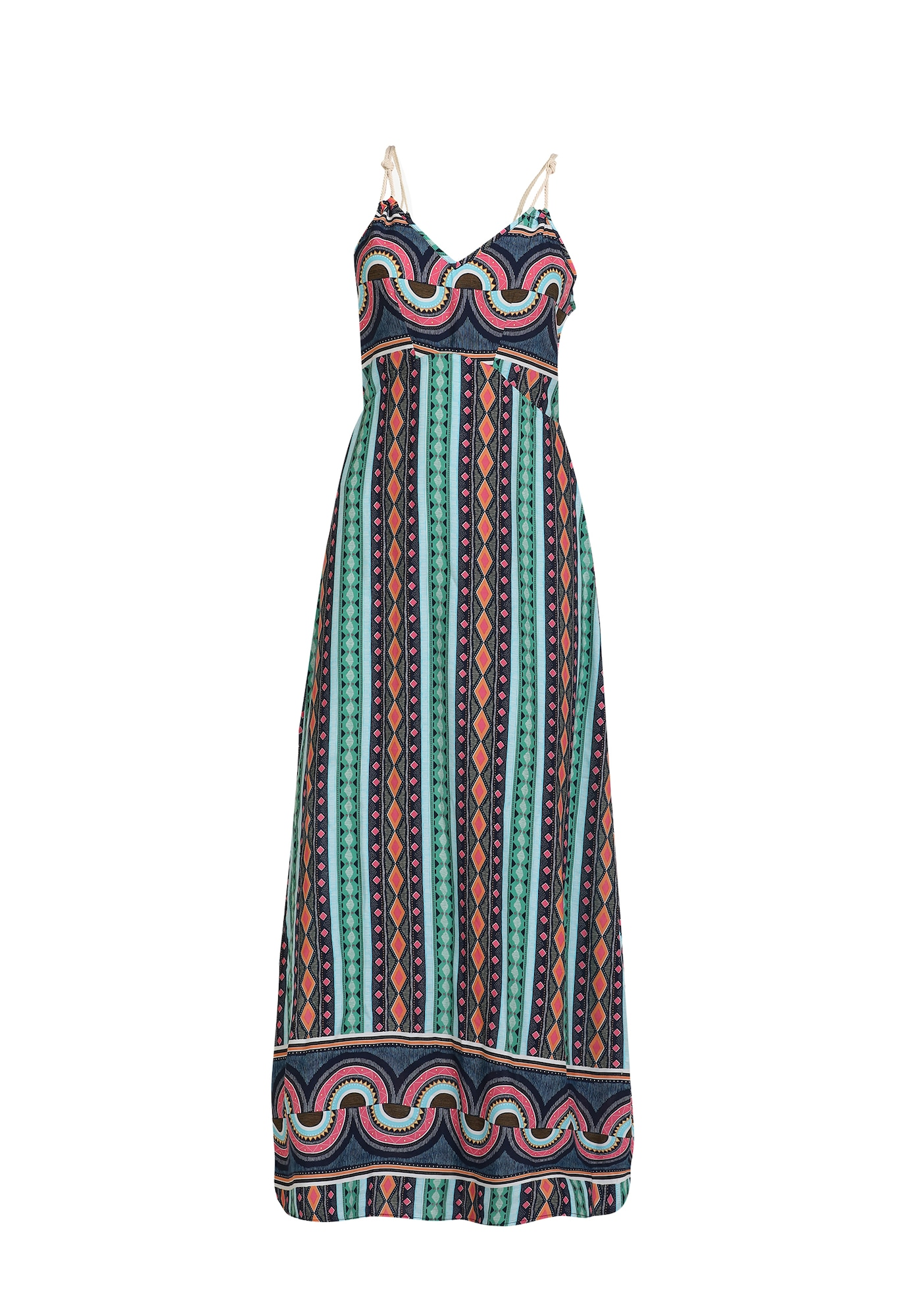 MYMO Suknelė pastelinė mėlyna / mišrios spalvos