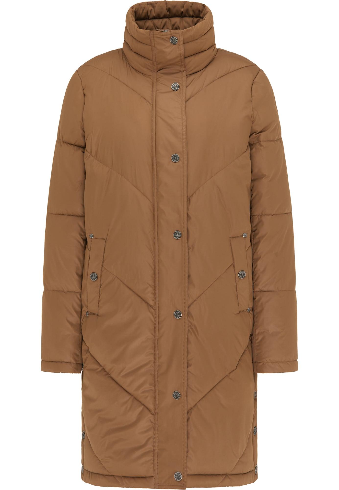 DreiMaster Vintage Žieminis paltas šviesiai ruda