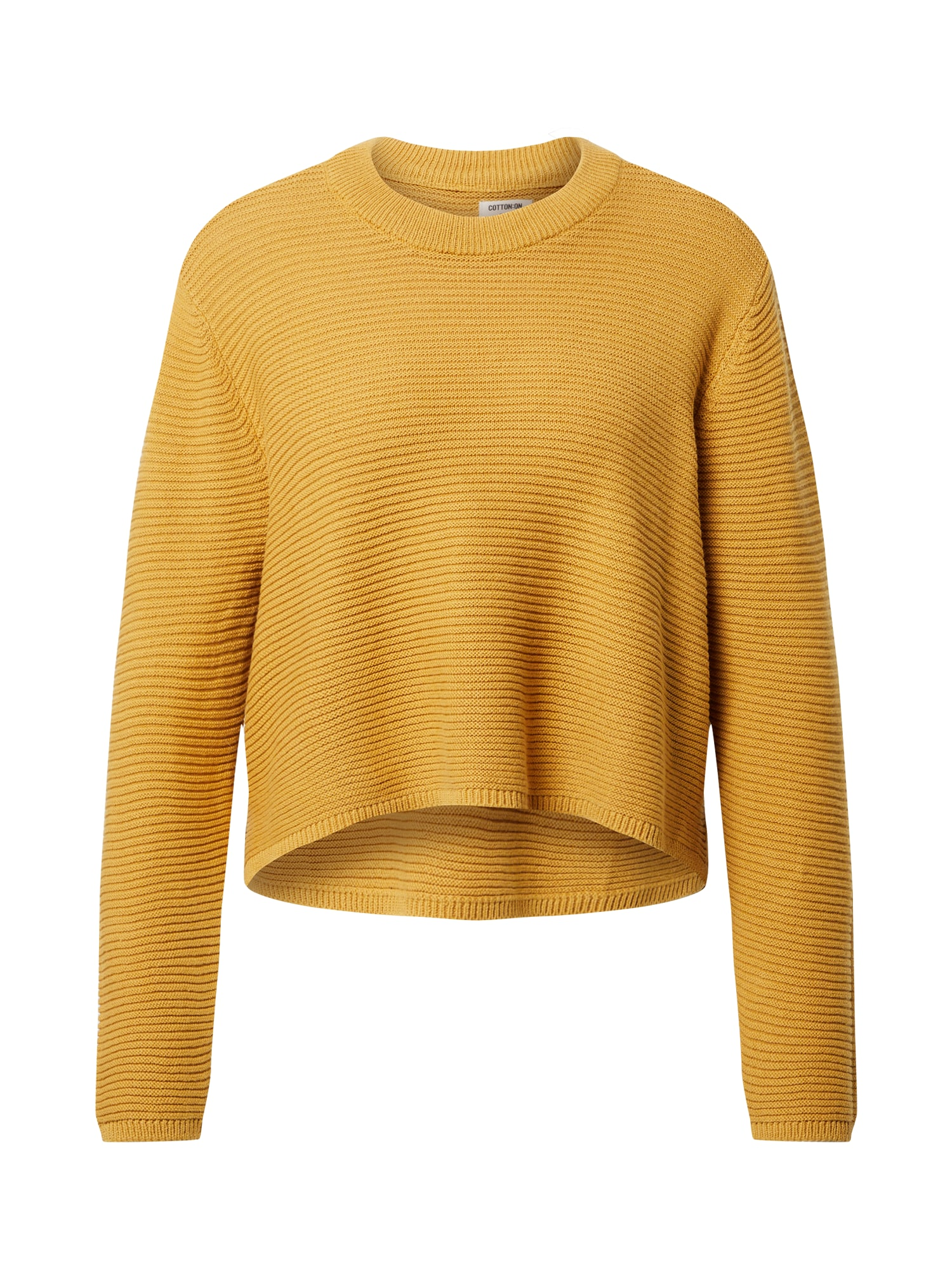 Cotton On Megztinis aukso geltonumo spalva