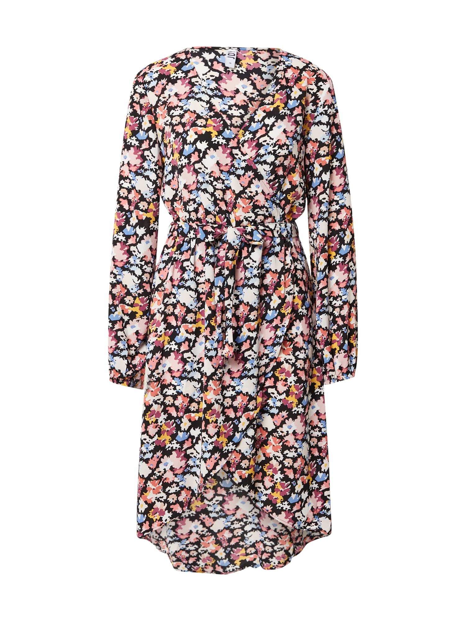JDY Šaty 'ROXANNE'  černá / pink / bílá / žlutá / světlemodrá