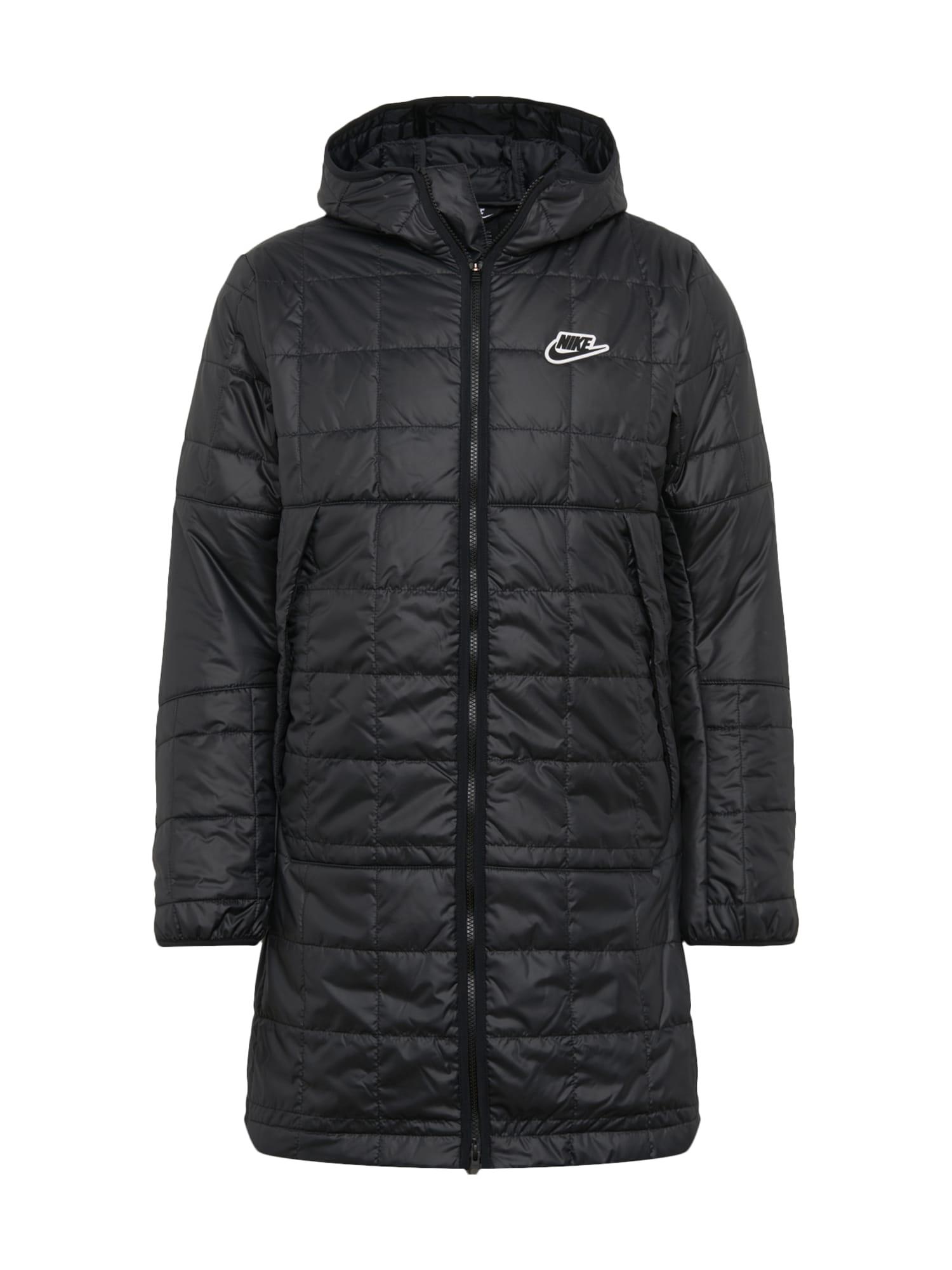 Nike Sportswear Rudeninis-žieminis paltas 'NSW' juoda