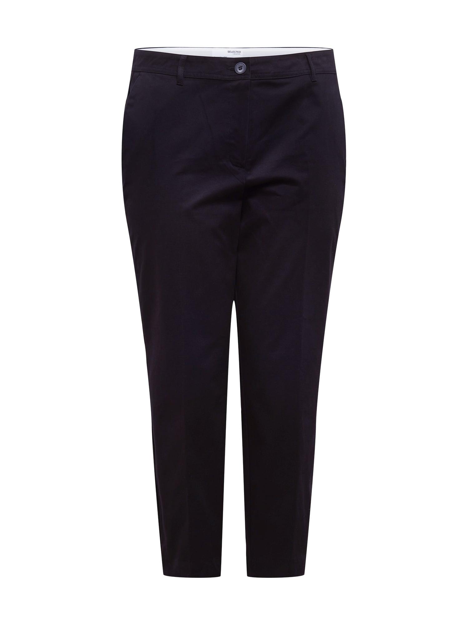 Selected Femme Curve Kelnės su kantu