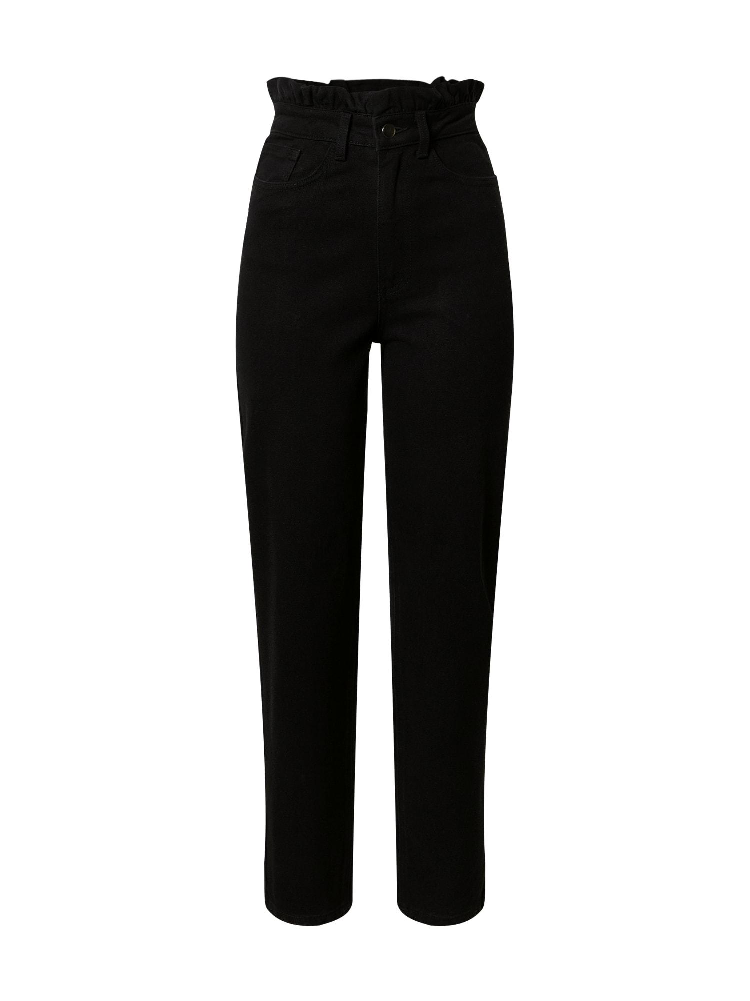 ABOUT YOU Džinsai 'Lynn' juodo džinso spalva