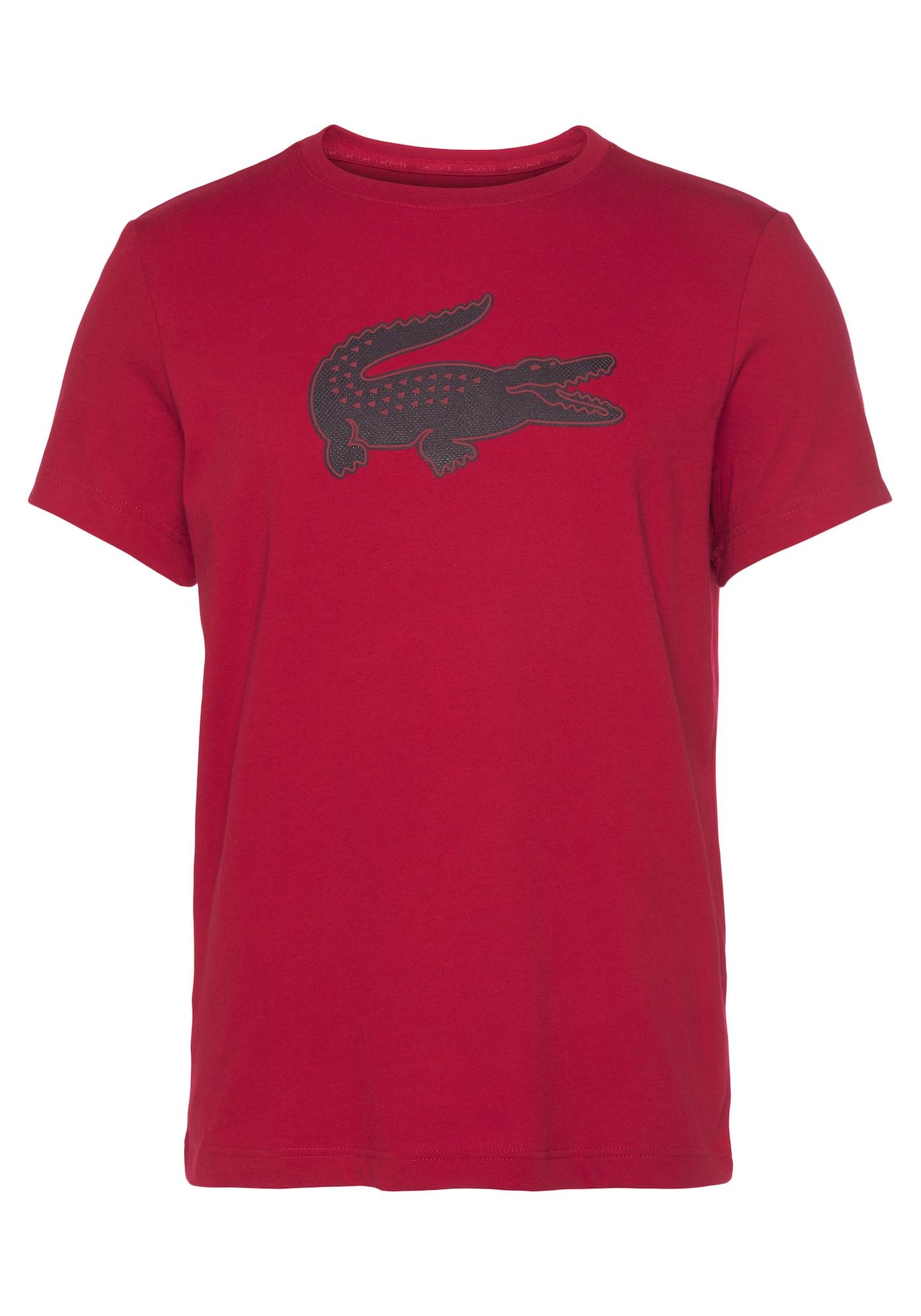Lacoste Sport Marškinėliai raudona