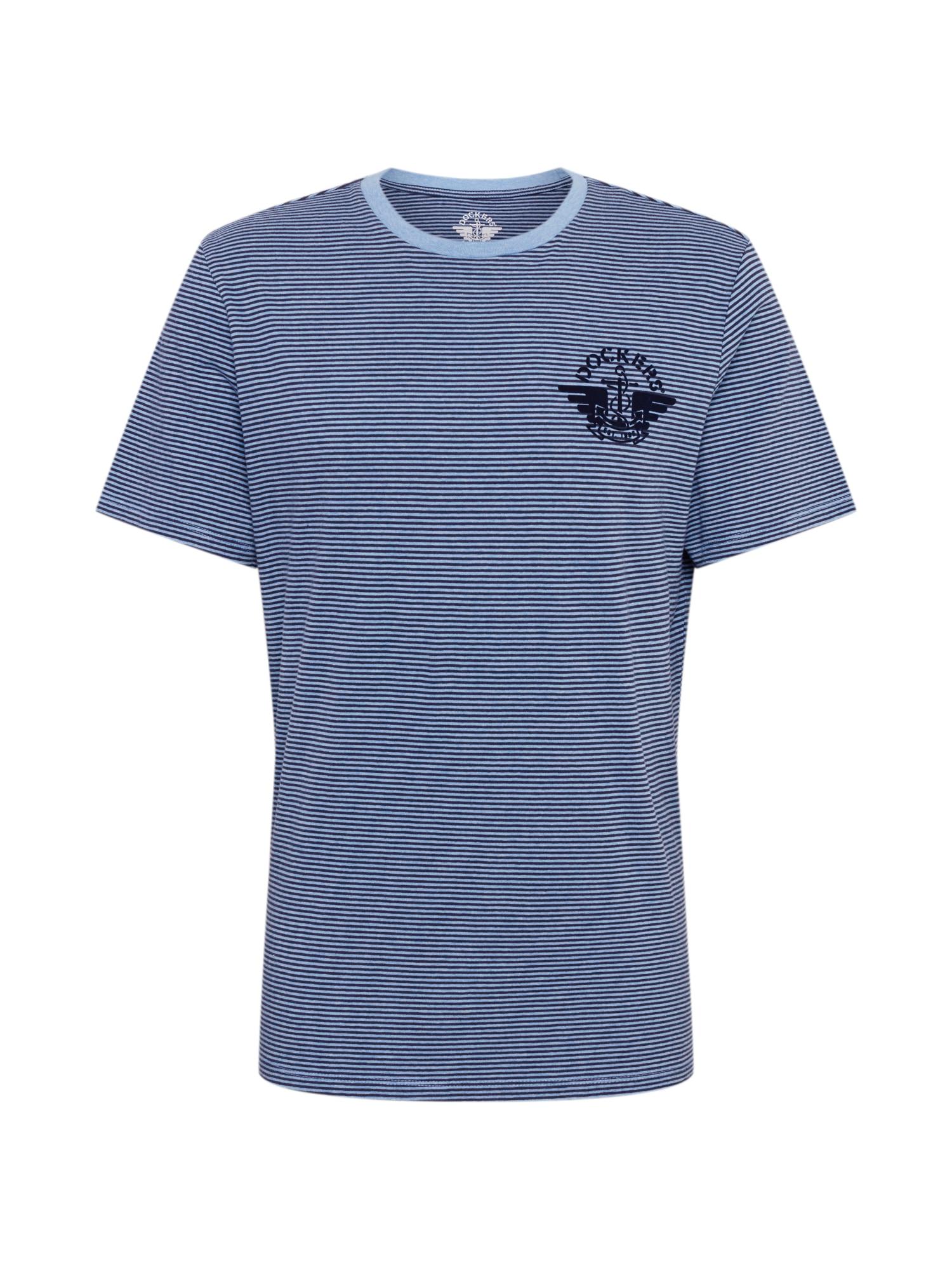 Dockers Marškinėliai mėlyna / opalo