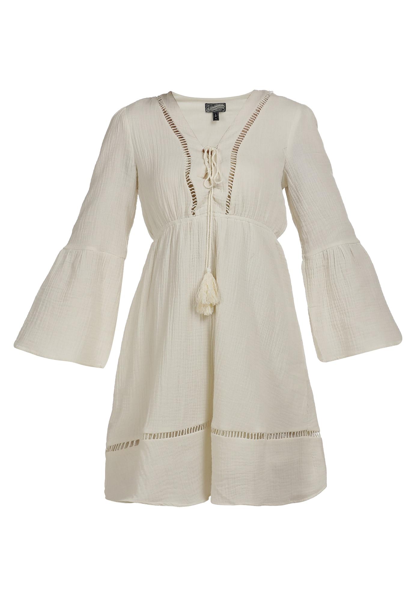 DreiMaster Vintage Vasarinė suknelė vilnos balta