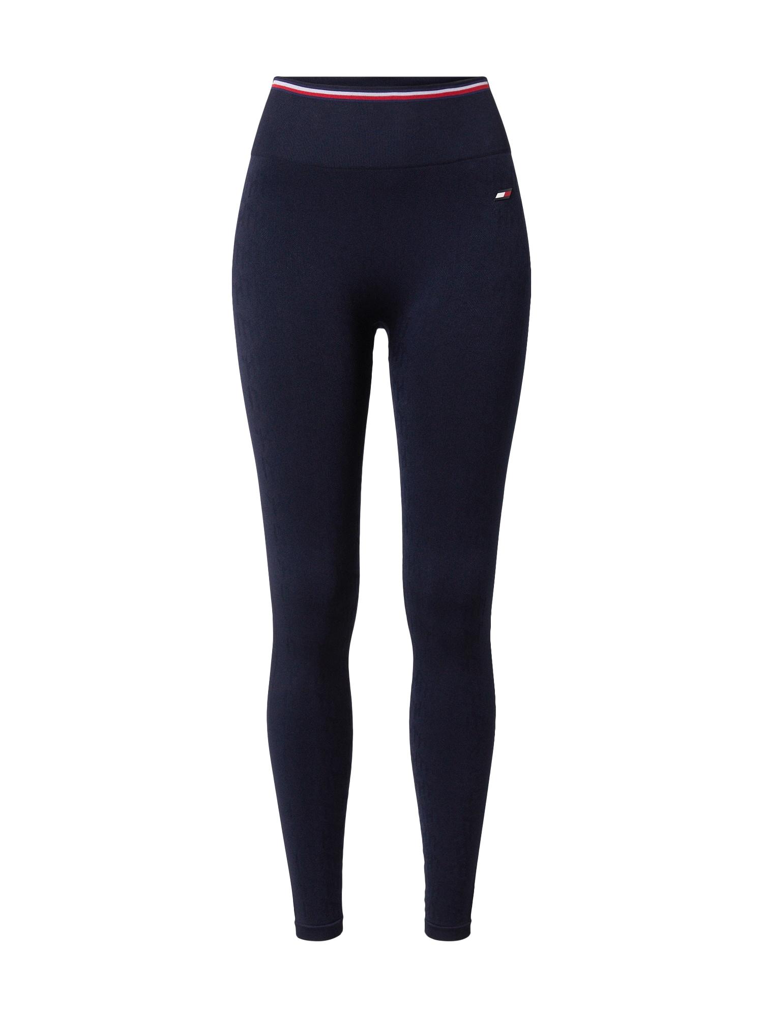 Tommy Sport Sportovní kalhoty  tmavě modrá