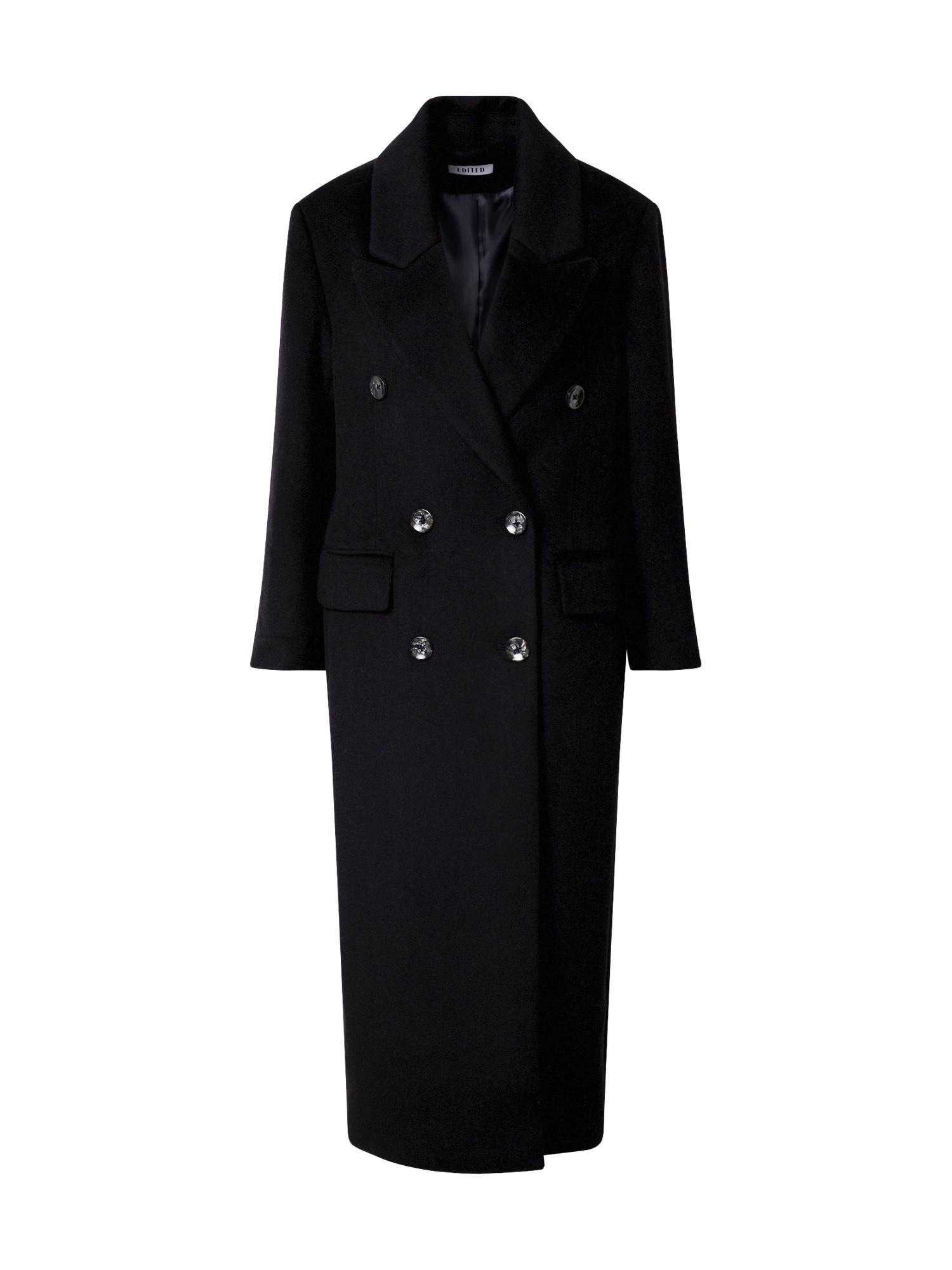 EDITED Demisezoninis paltas 'Doreen' juoda