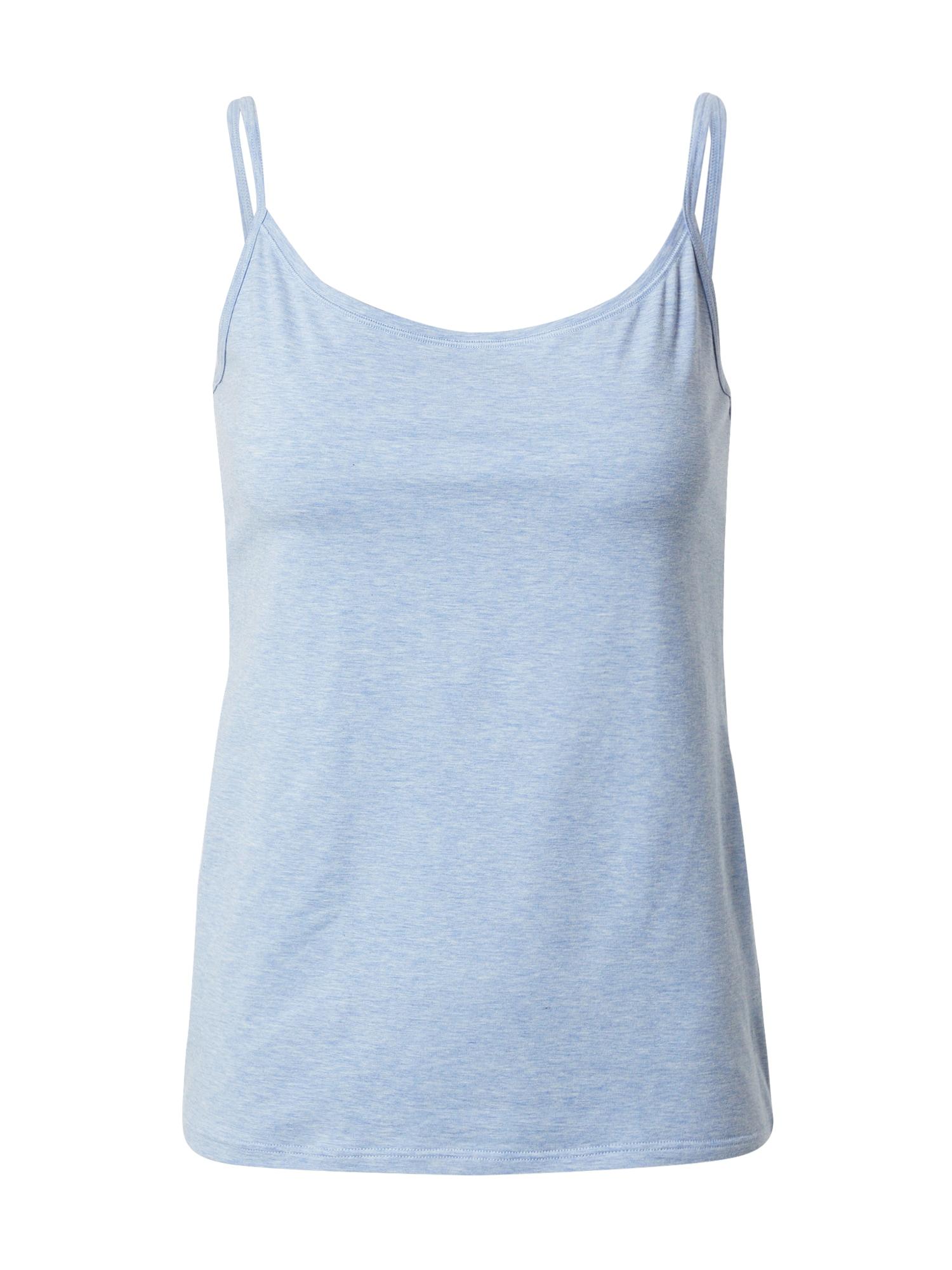 CALIDA Apatiniai marškinėliai pastelinė mėlyna