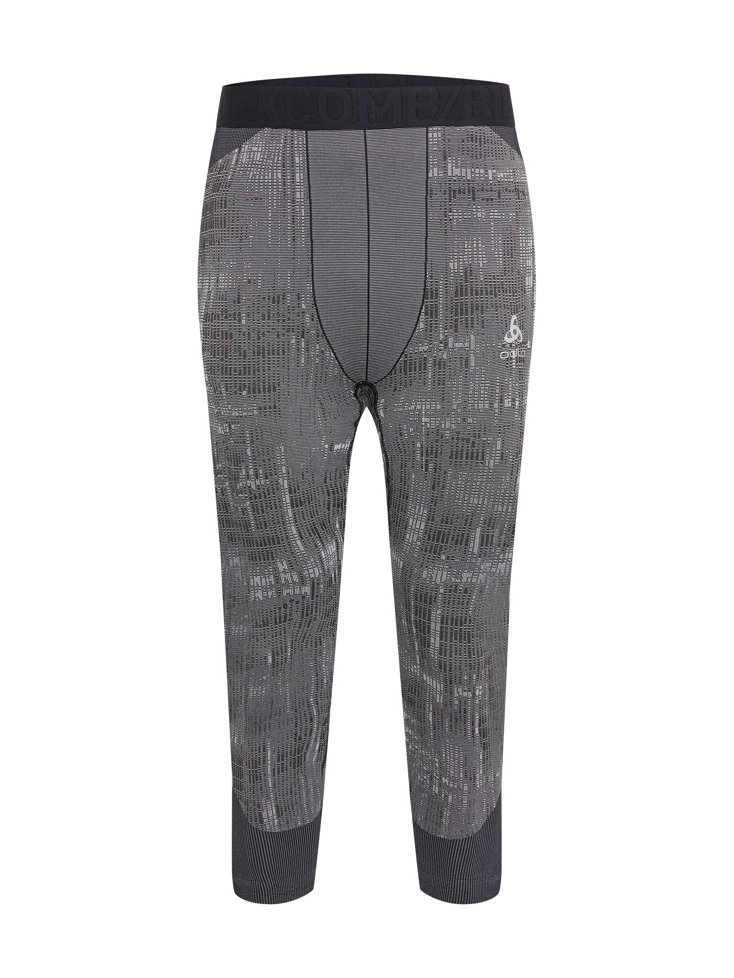 ODLO Sportinės kelnės juoda / pilka