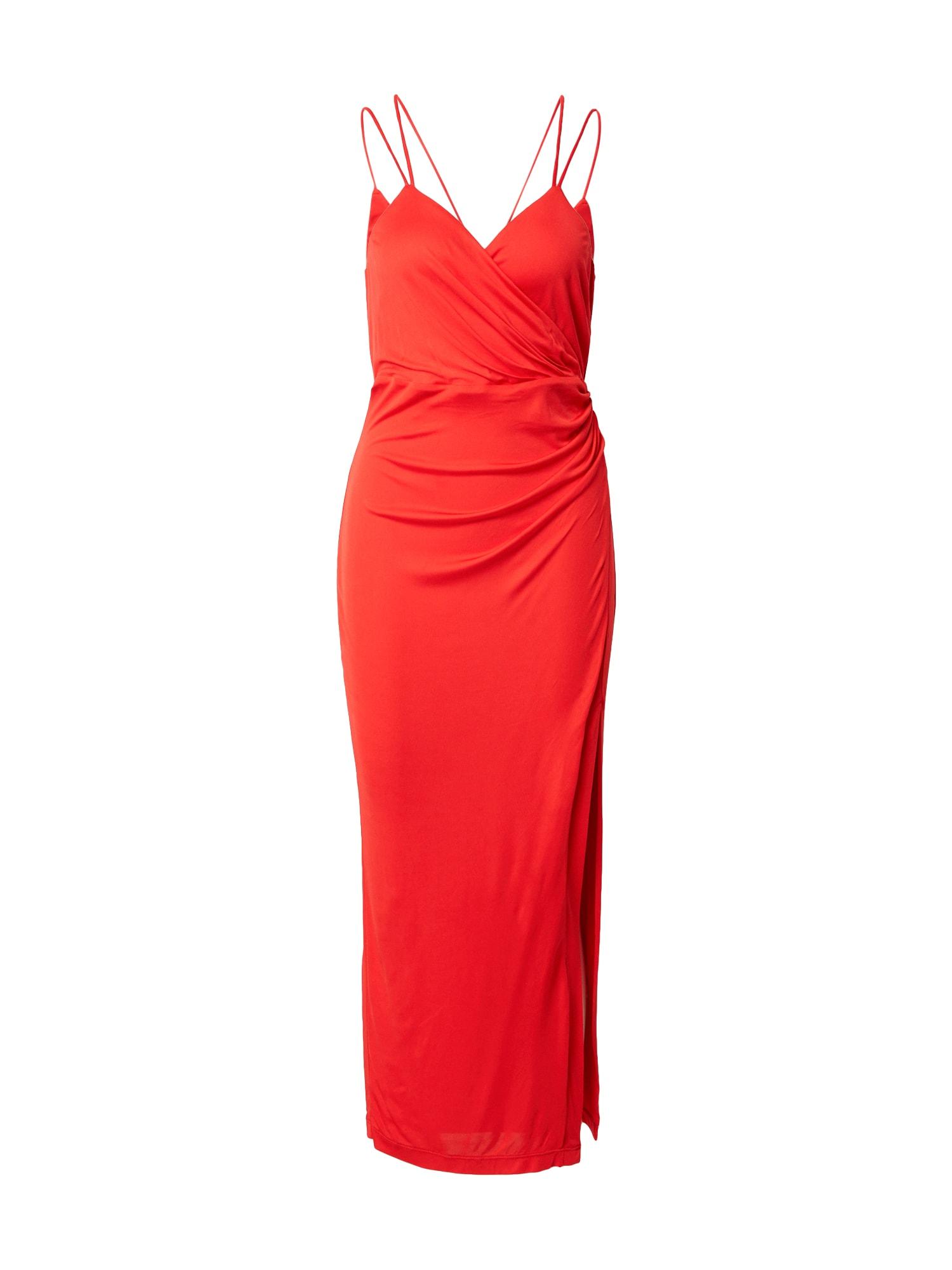 Bardot Vakarinė suknelė raudona